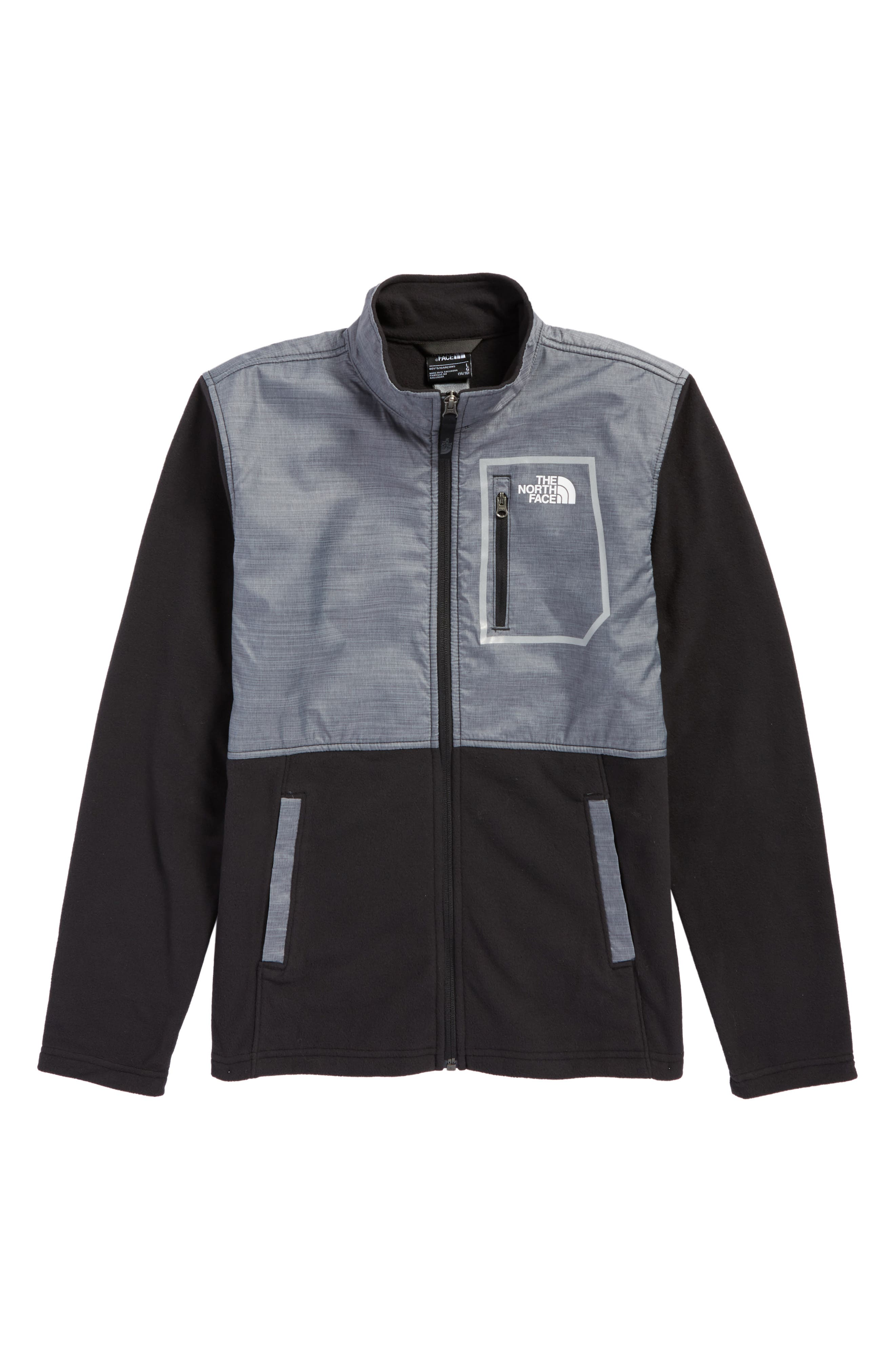 Glacier Microfleece Track Jacket,                             Main thumbnail 1, color,