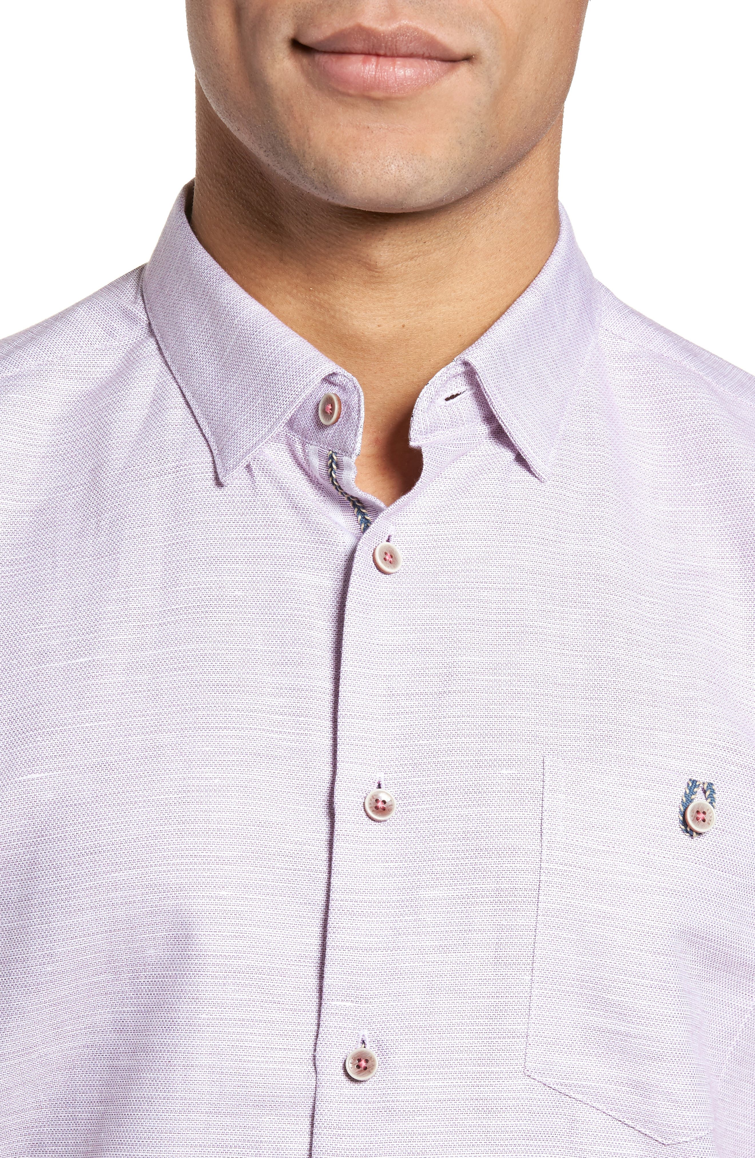Slim Fit Sport Shirt,                             Alternate thumbnail 20, color,