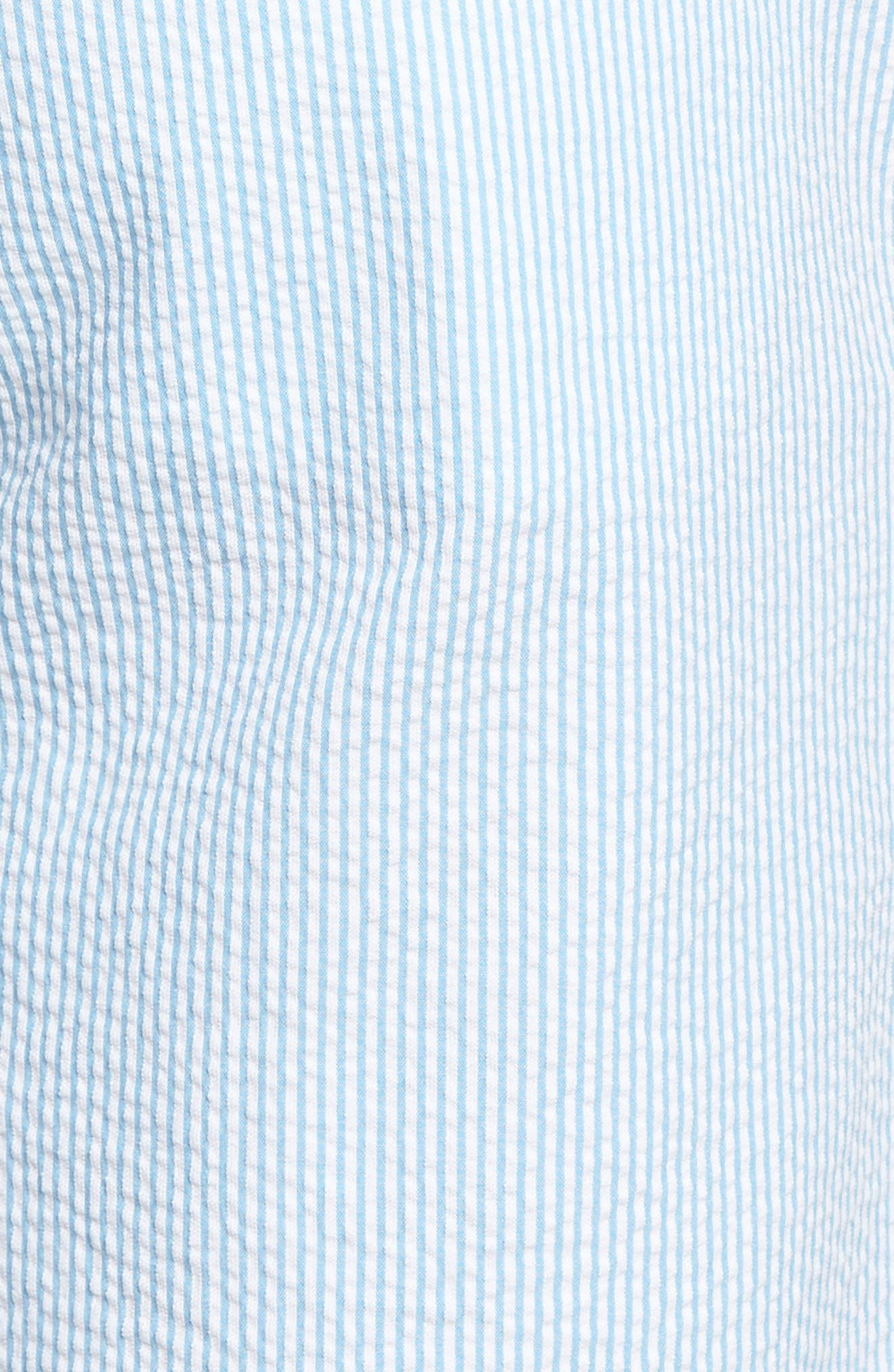 9 Inch Seersucker Shorts,                             Alternate thumbnail 9, color,
