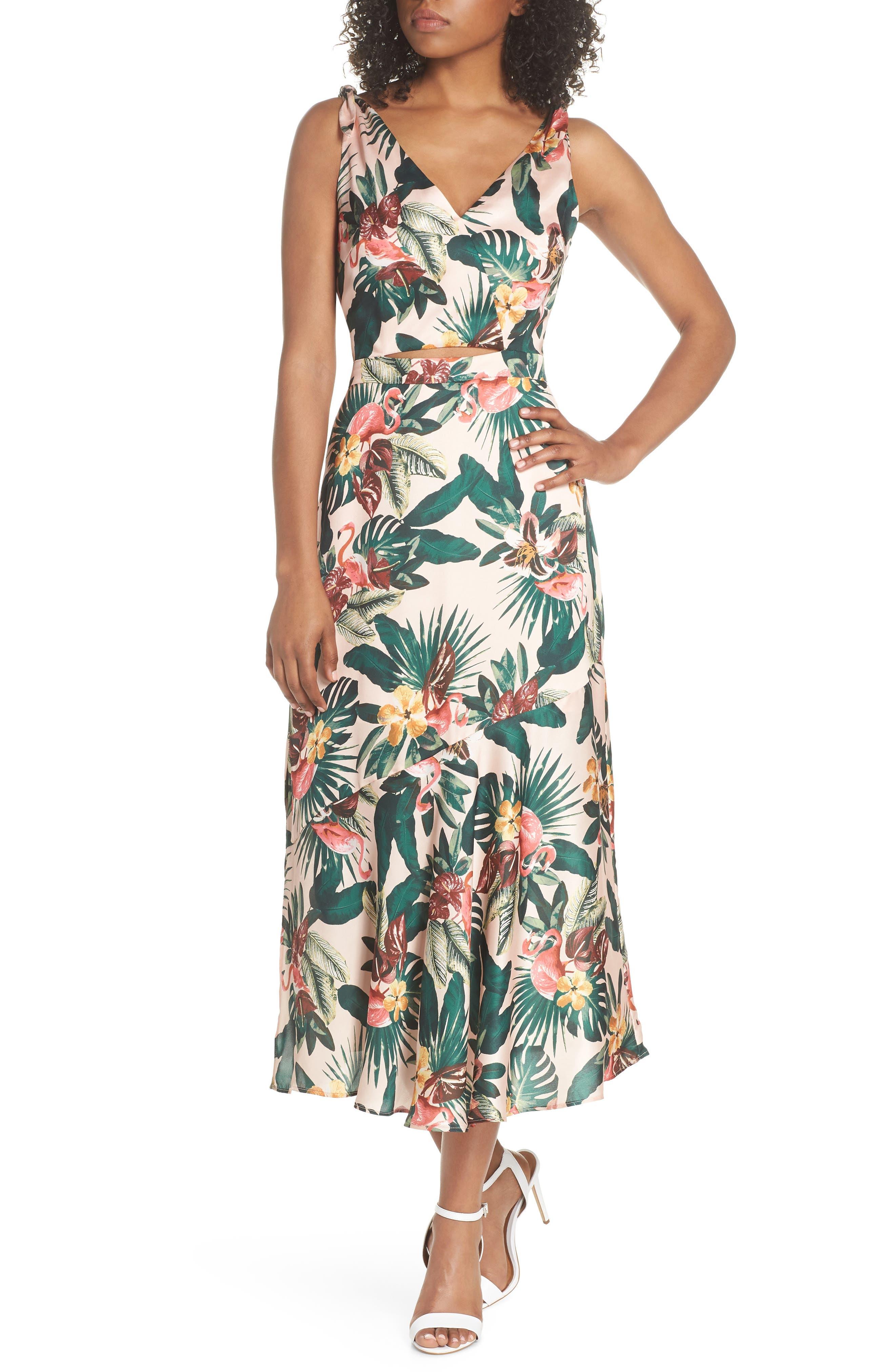 Peekaboo Dress, Main, color, 680