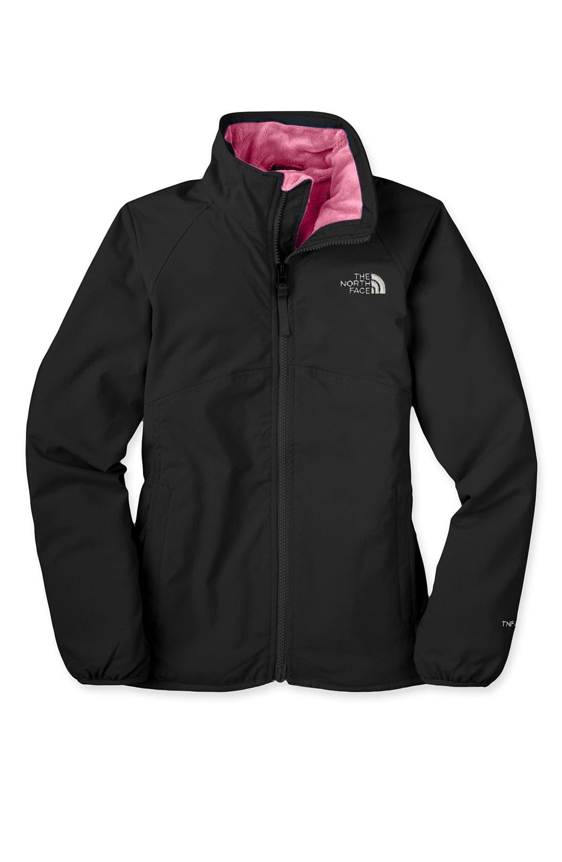 'Mossbud' Softshell Lightweight Jacket,                         Main,                         color, 001