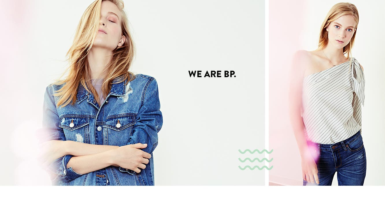We are BP. Women's clothing, shoes and accessories from Nordstrom-exclusive brand BP.