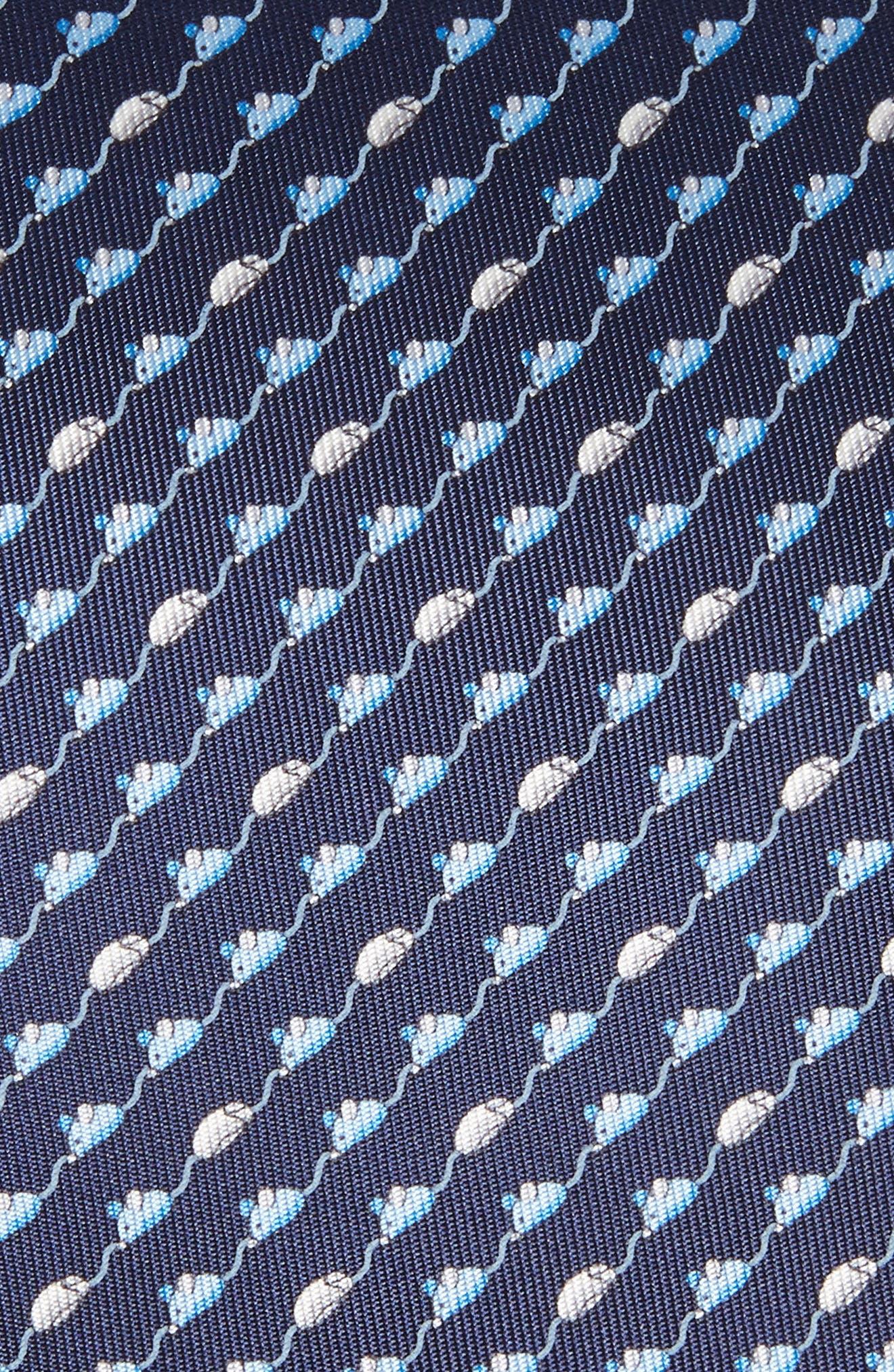 Mouse Print Silk Tie,                             Alternate thumbnail 2, color,                             410
