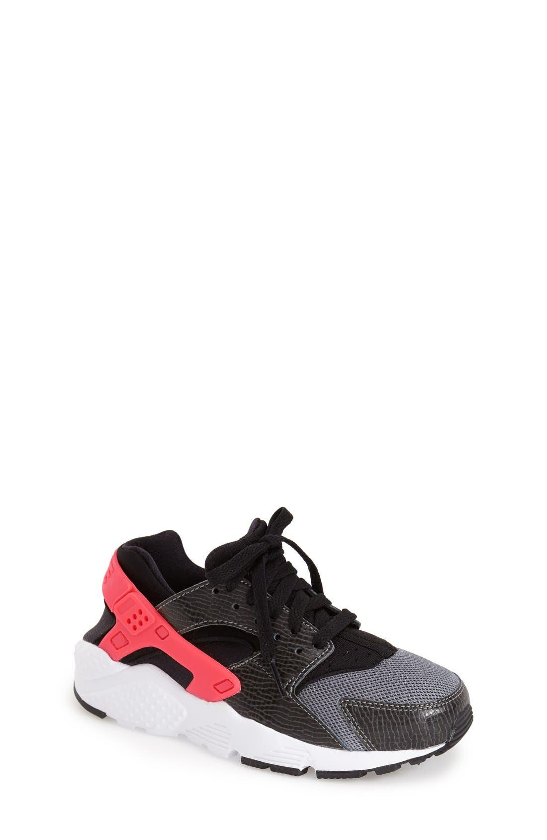 NIKE,                             'Huarache' Sneaker,                             Main thumbnail 1, color,                             010