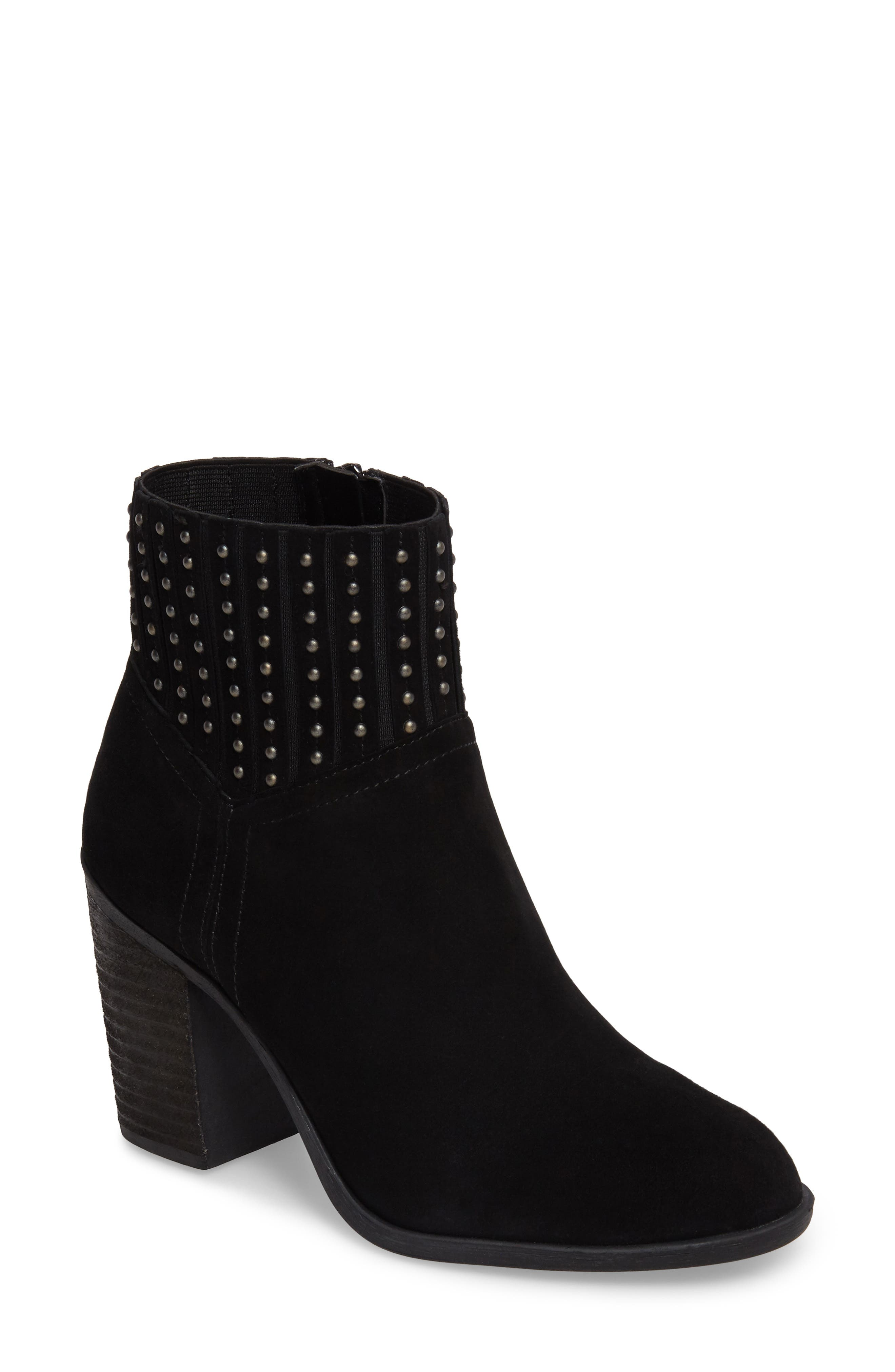 Salome Embellished Bootie,                             Main thumbnail 1, color,