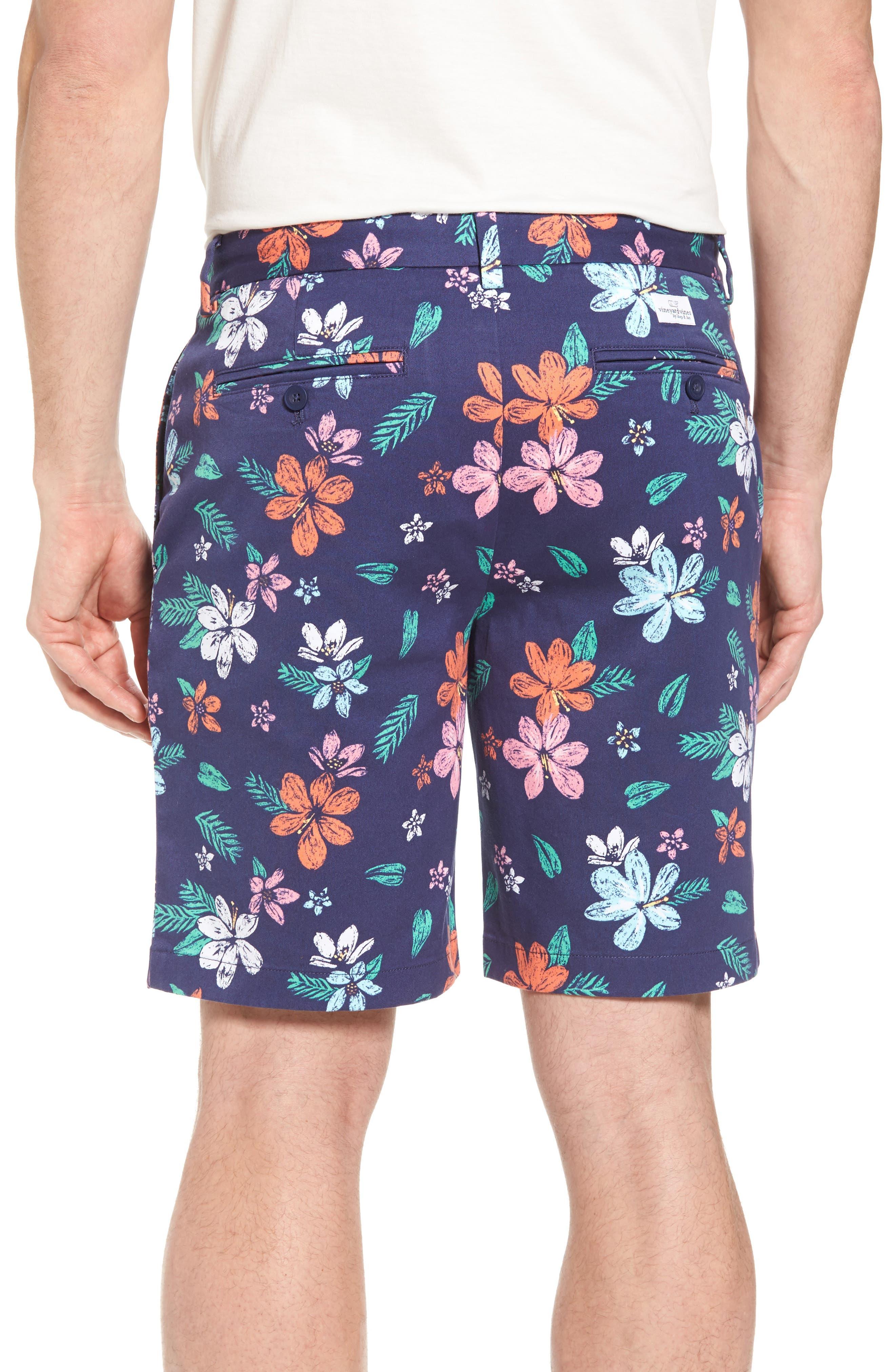 Floral Print Breaker Shorts,                             Alternate thumbnail 2, color,                             400