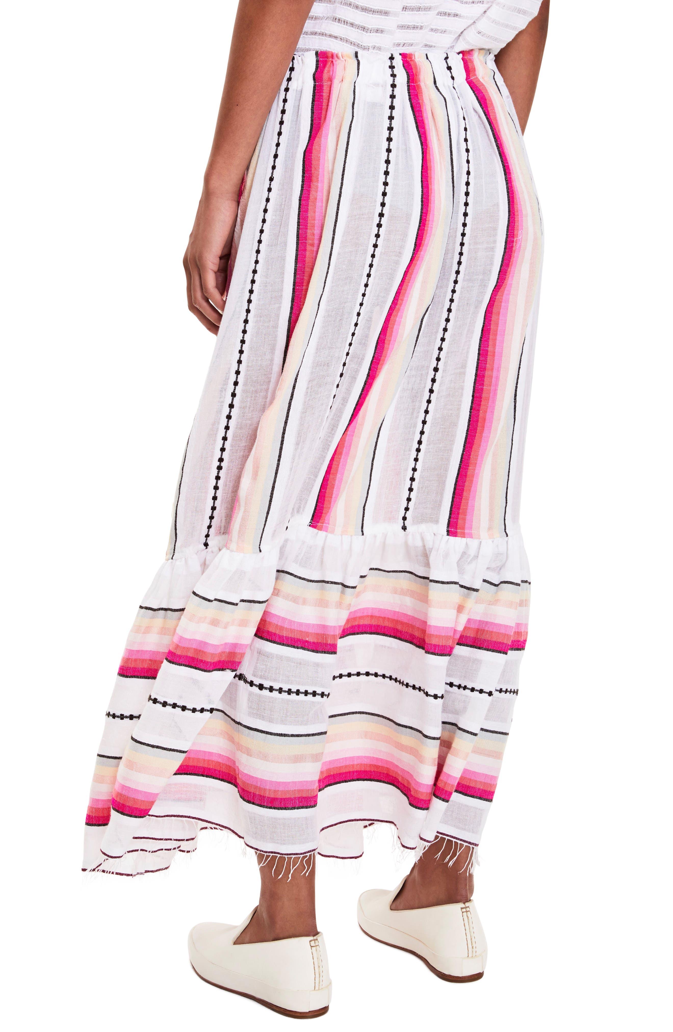 Adia Convertible Cover-Up Skirt,                             Alternate thumbnail 3, color,                             100