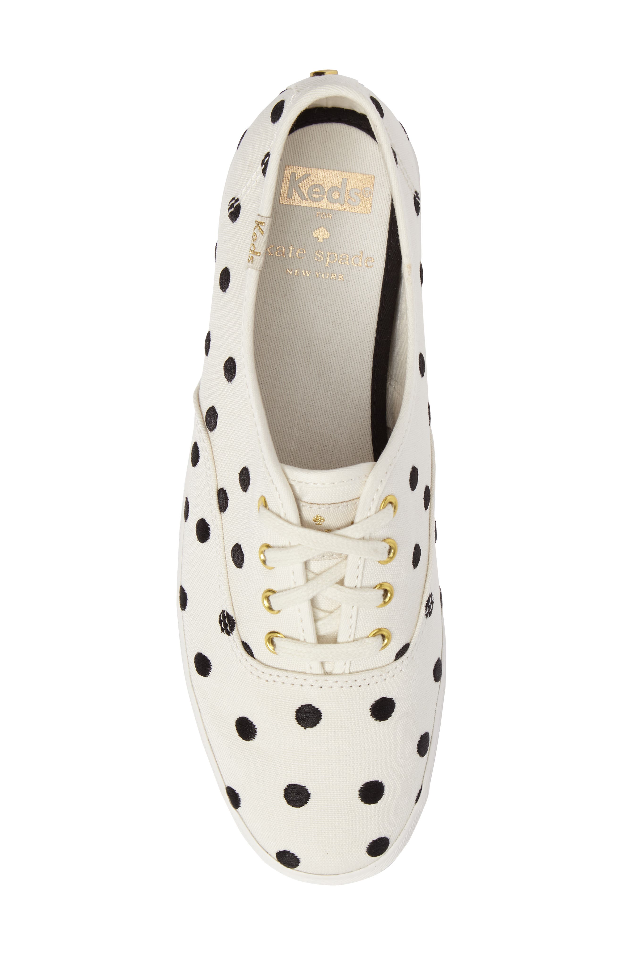 Keds<sup>®</sup> x kate spade new york champion sneaker,                             Alternate thumbnail 18, color,