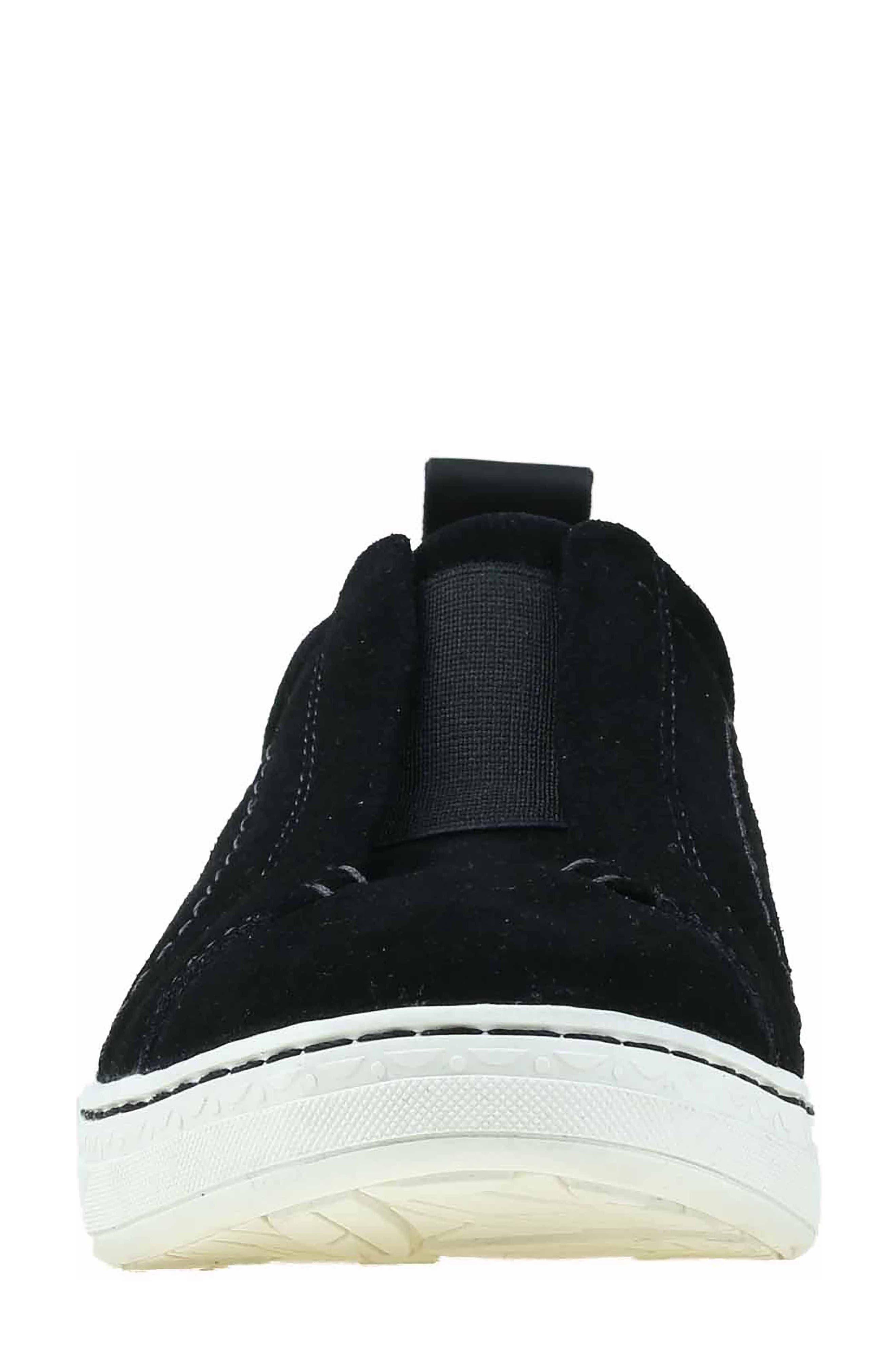 Zetta Slip-On Sneaker,                             Alternate thumbnail 4, color,                             003