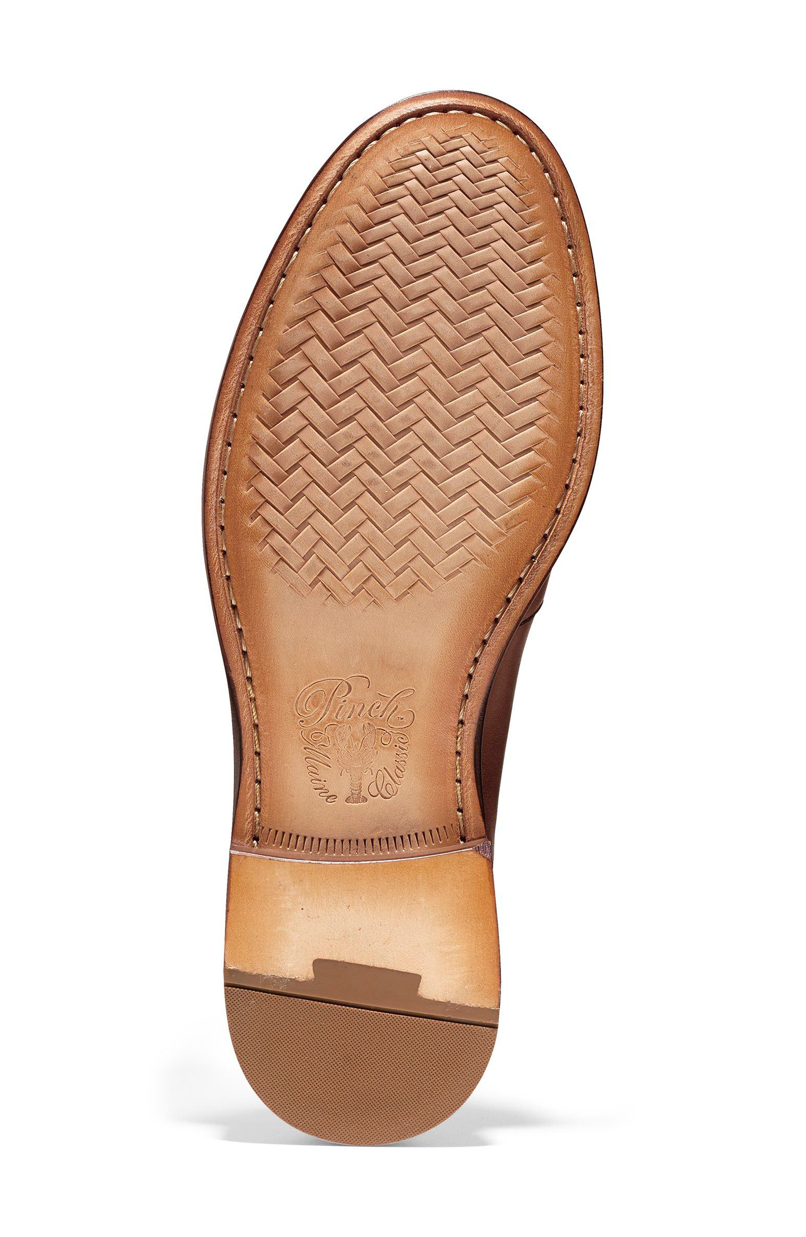 Pinch Penny Loafer,                             Alternate thumbnail 6, color,                             BRITISH TAN LEATHER