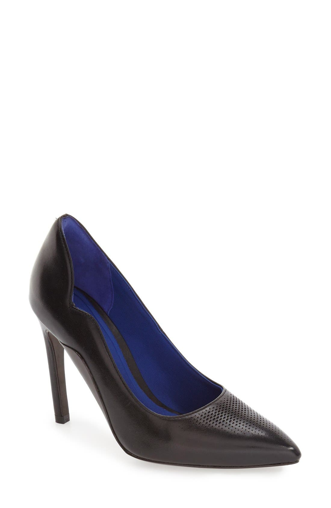 'Antoinette Grand' Pointy Toe Pump, Main, color, 001