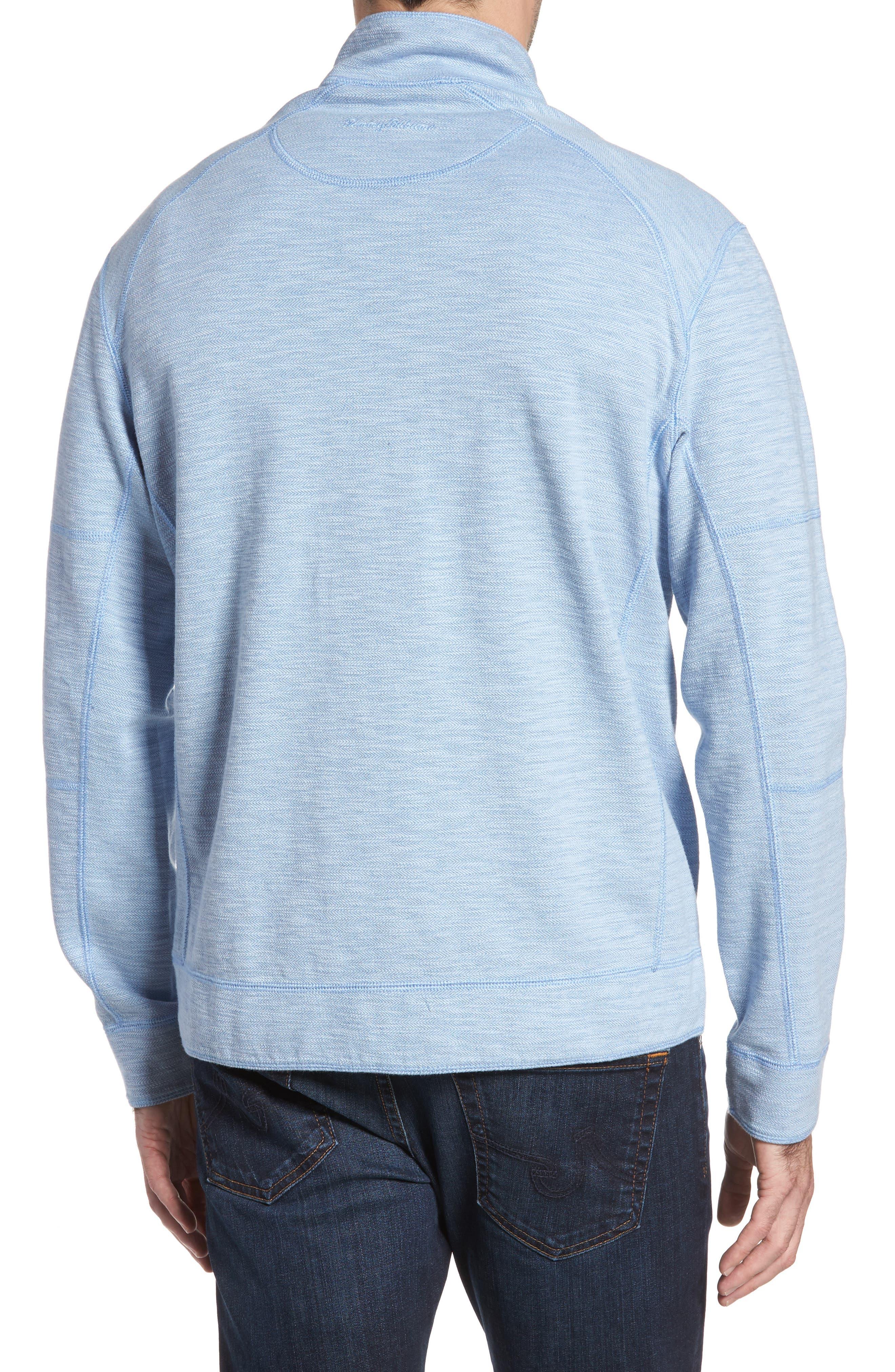 Sandbar Slub Reversible Quarter Zip Pullover,                             Alternate thumbnail 9, color,