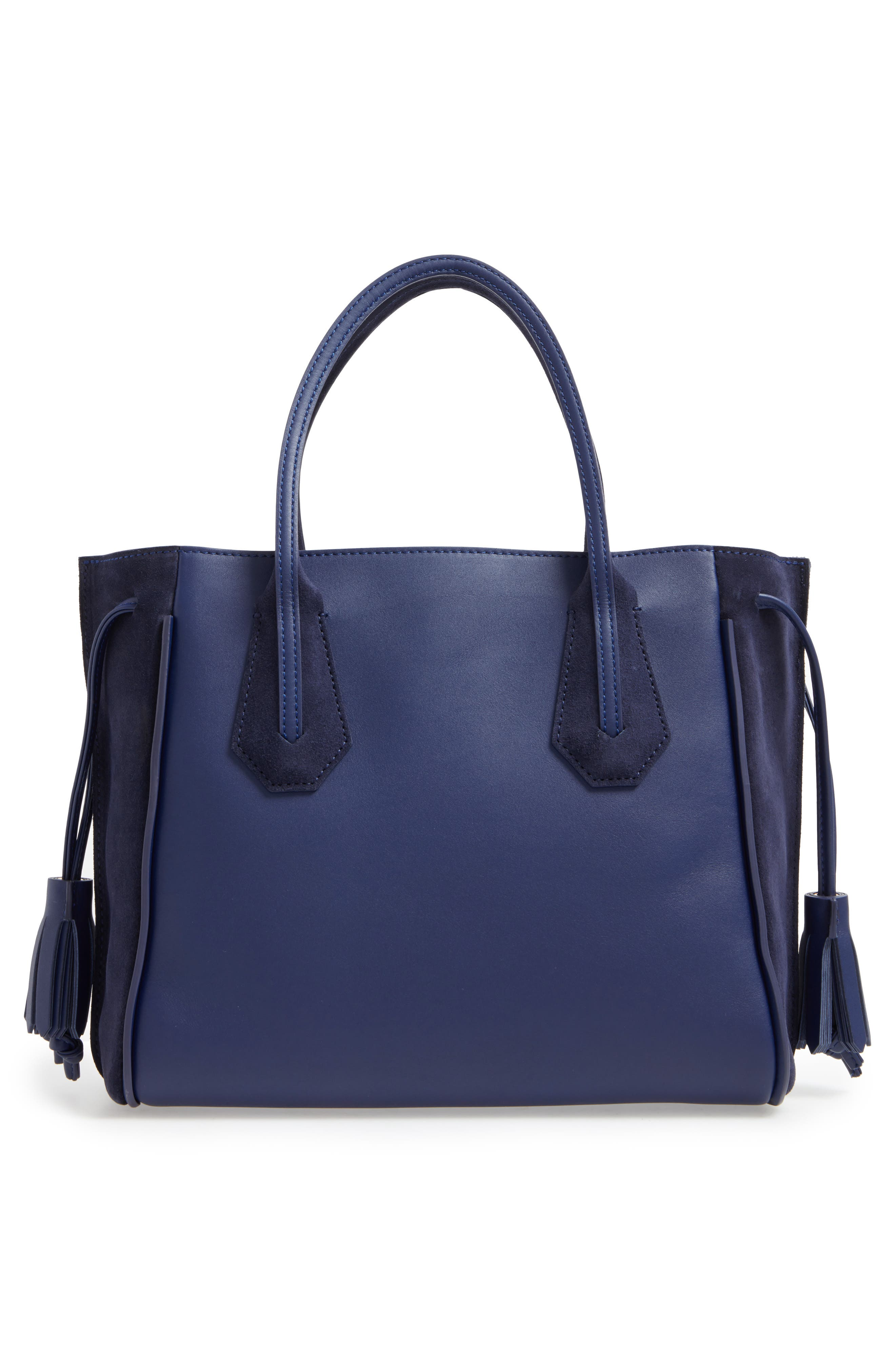 'Small Penelope Fantasie' Leather Tote,                             Alternate thumbnail 3, color,                             400
