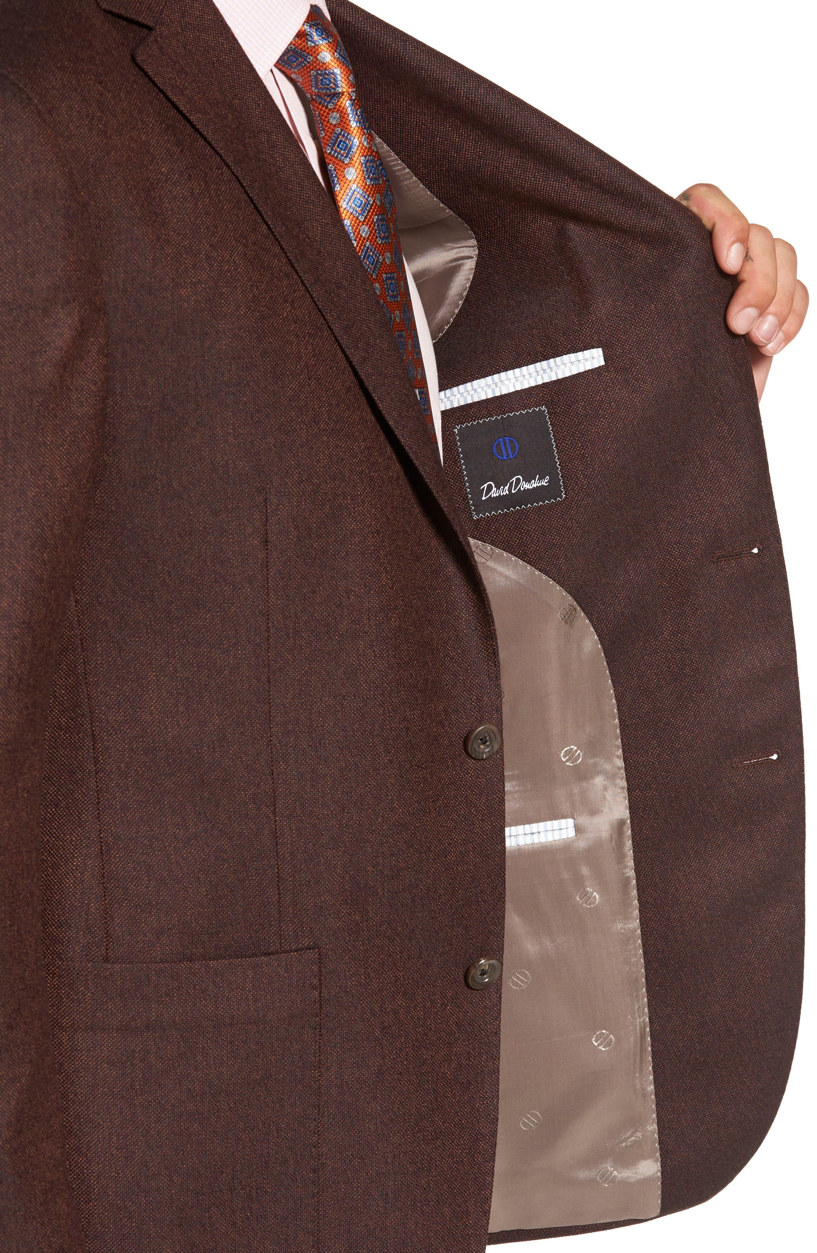 Aiden Classic Fit Wool Sport Coat,                             Alternate thumbnail 4, color,                             252