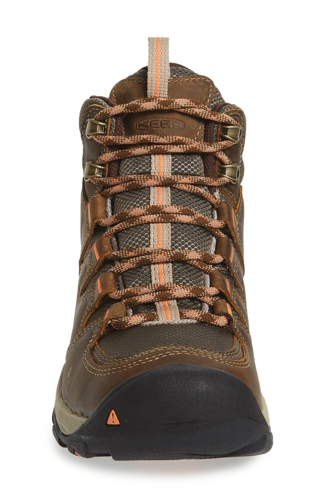 Gypsum II Mid Waterproof Hiking Boot,                             Alternate thumbnail 3, color,                             CORNSTOCK/ GOLD CORAL