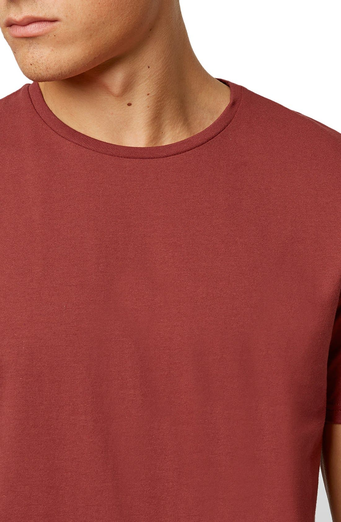 Slim Fit Crewneck T-Shirt,                             Alternate thumbnail 270, color,
