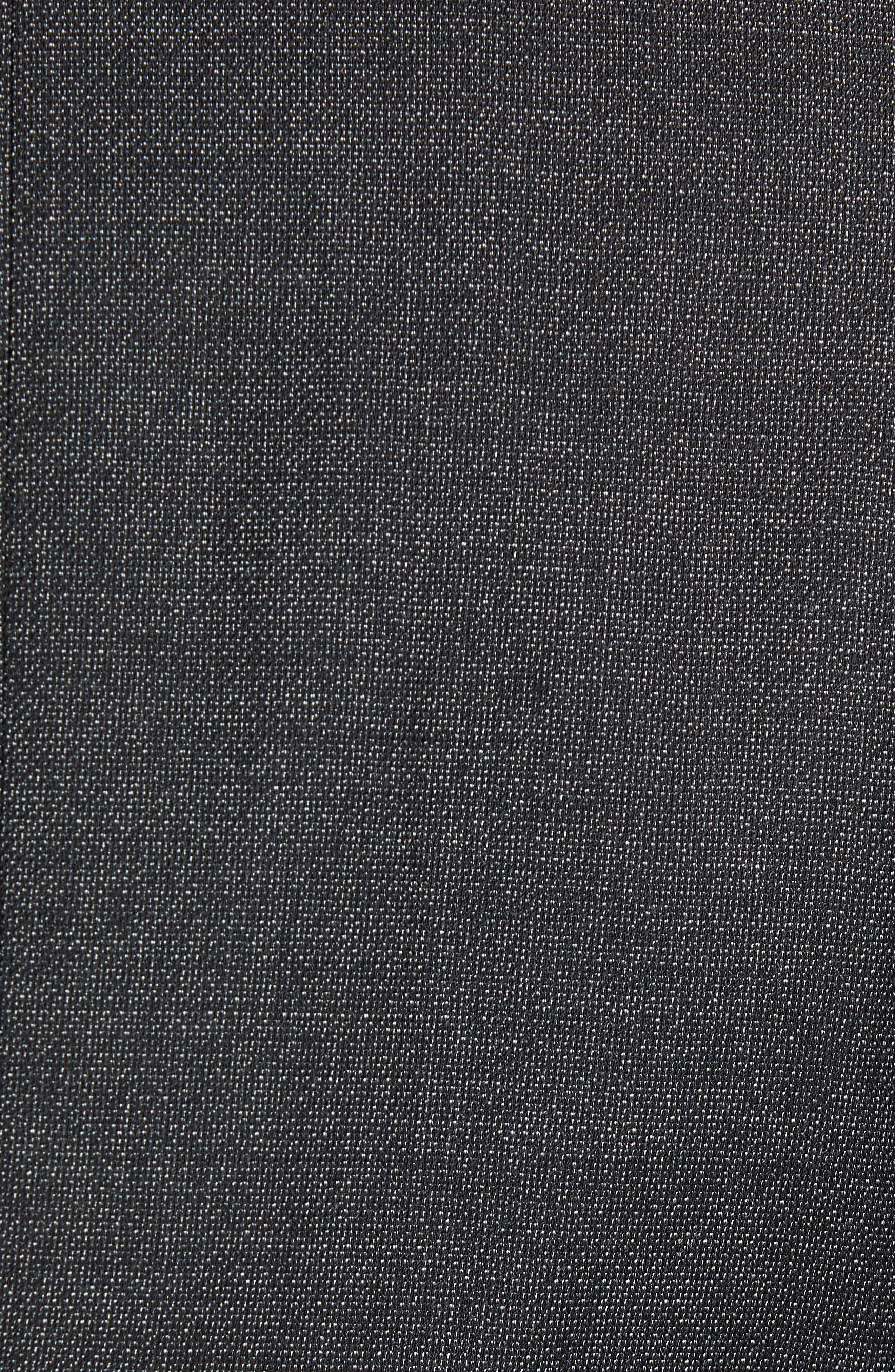 Huge/Genius Trim Fit Solid Wool Suit,                             Alternate thumbnail 7, color,                             BLACK