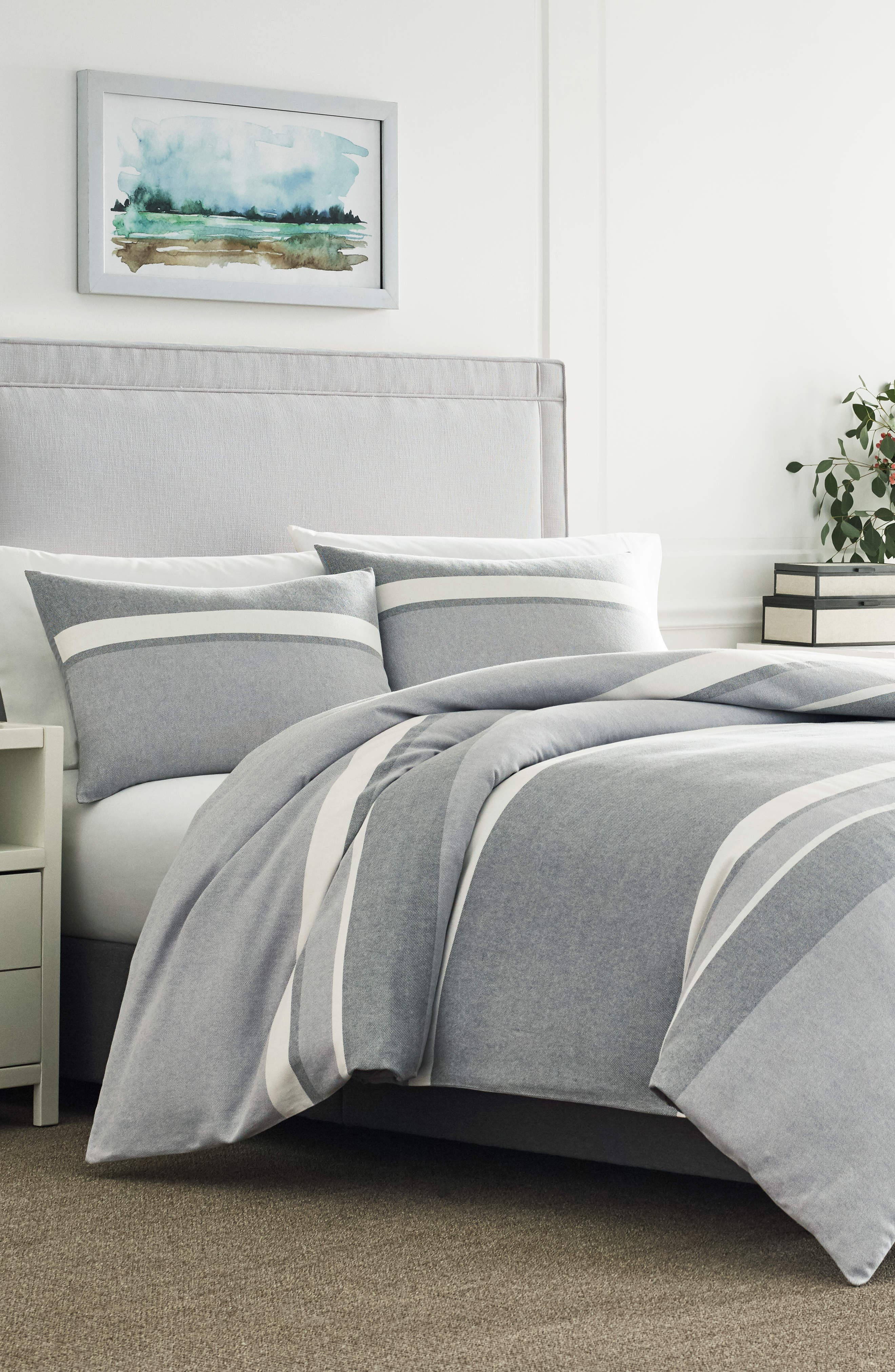 Clearview Comforter & Sham Set,                         Main,                         color, 075