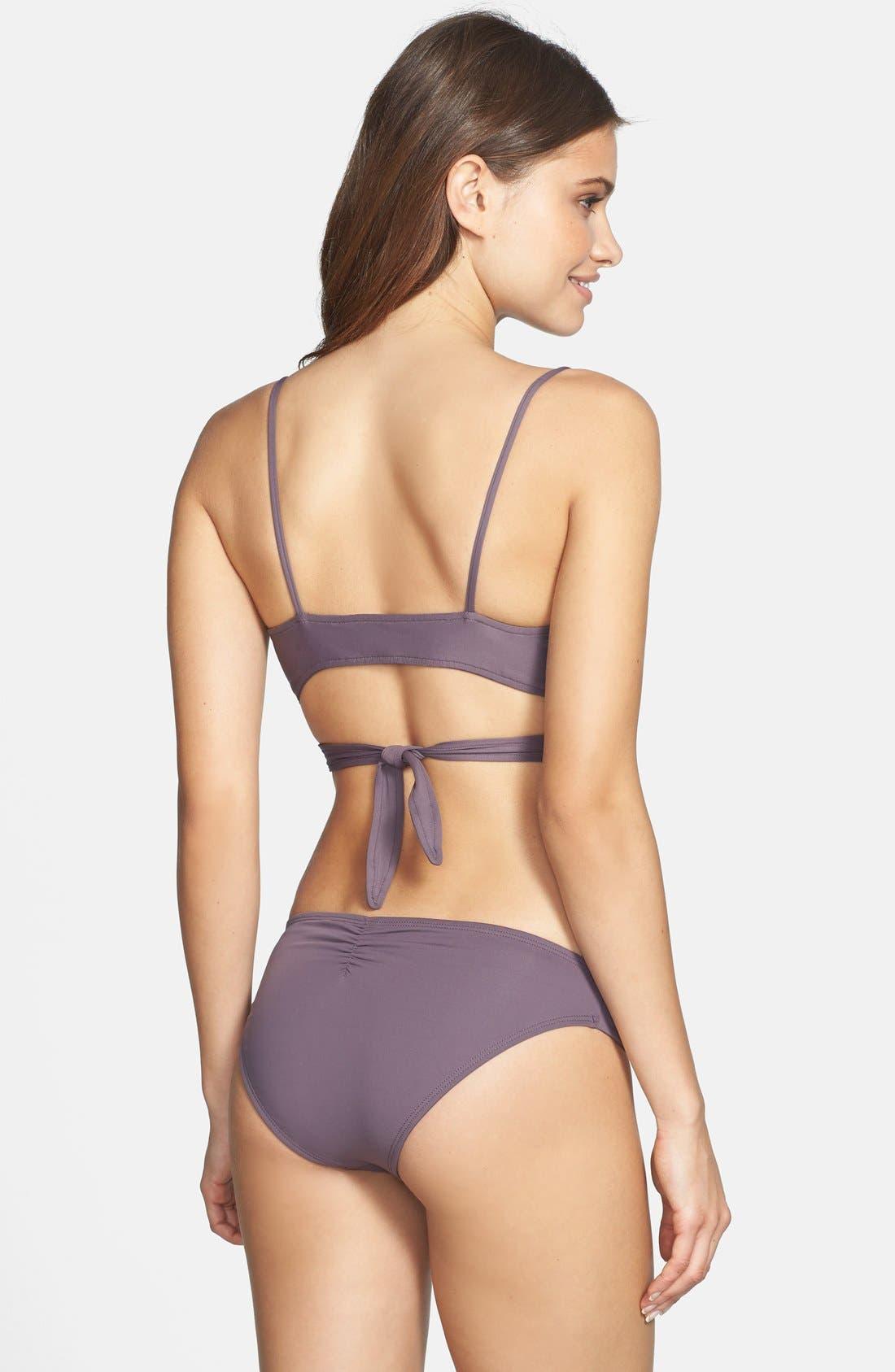 Chloe Wrap Bikini Top,                             Alternate thumbnail 8, color,                             020