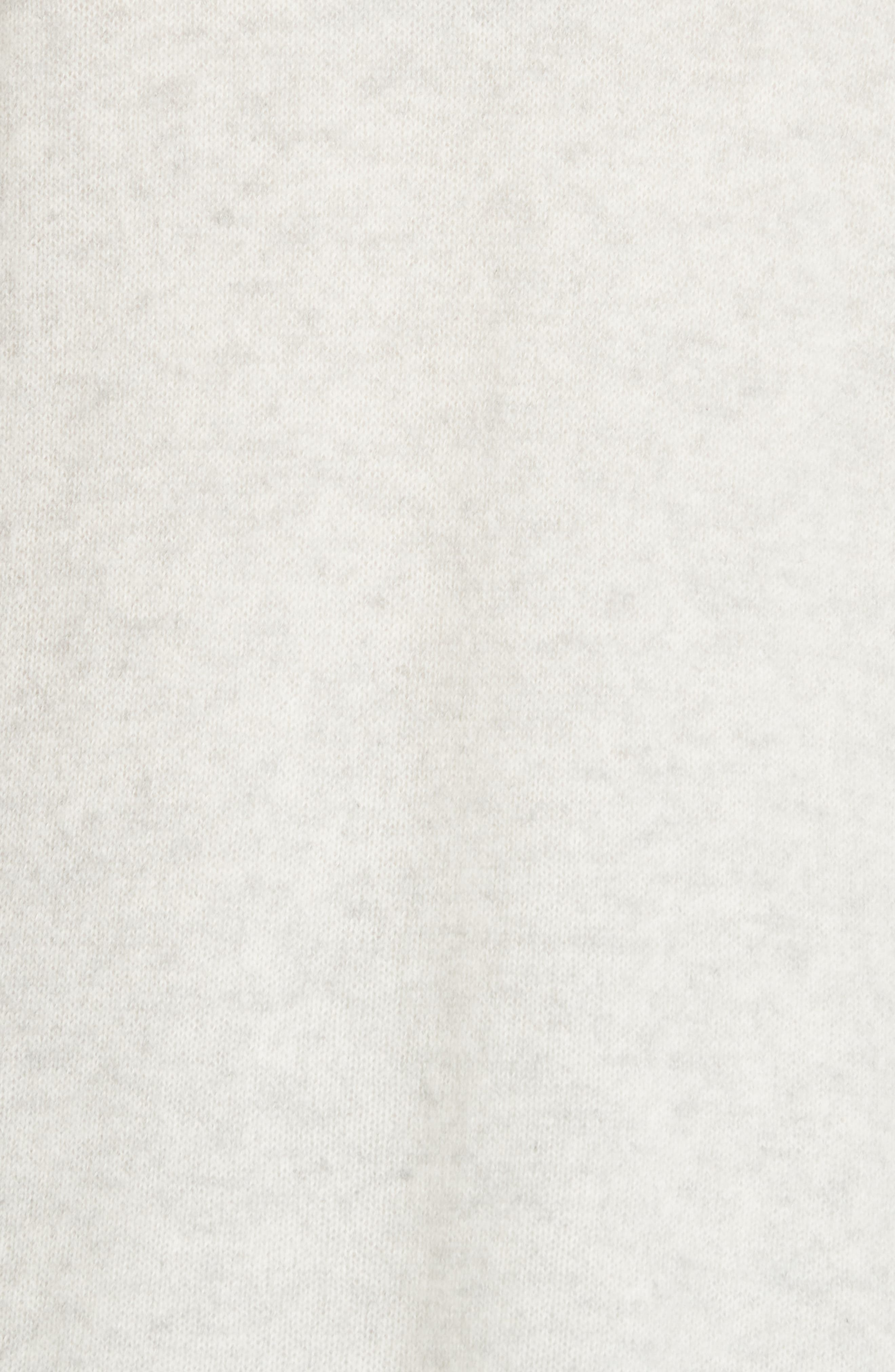 Cashmere Open Cardigan,                             Alternate thumbnail 5, color,                             BLIZZARD