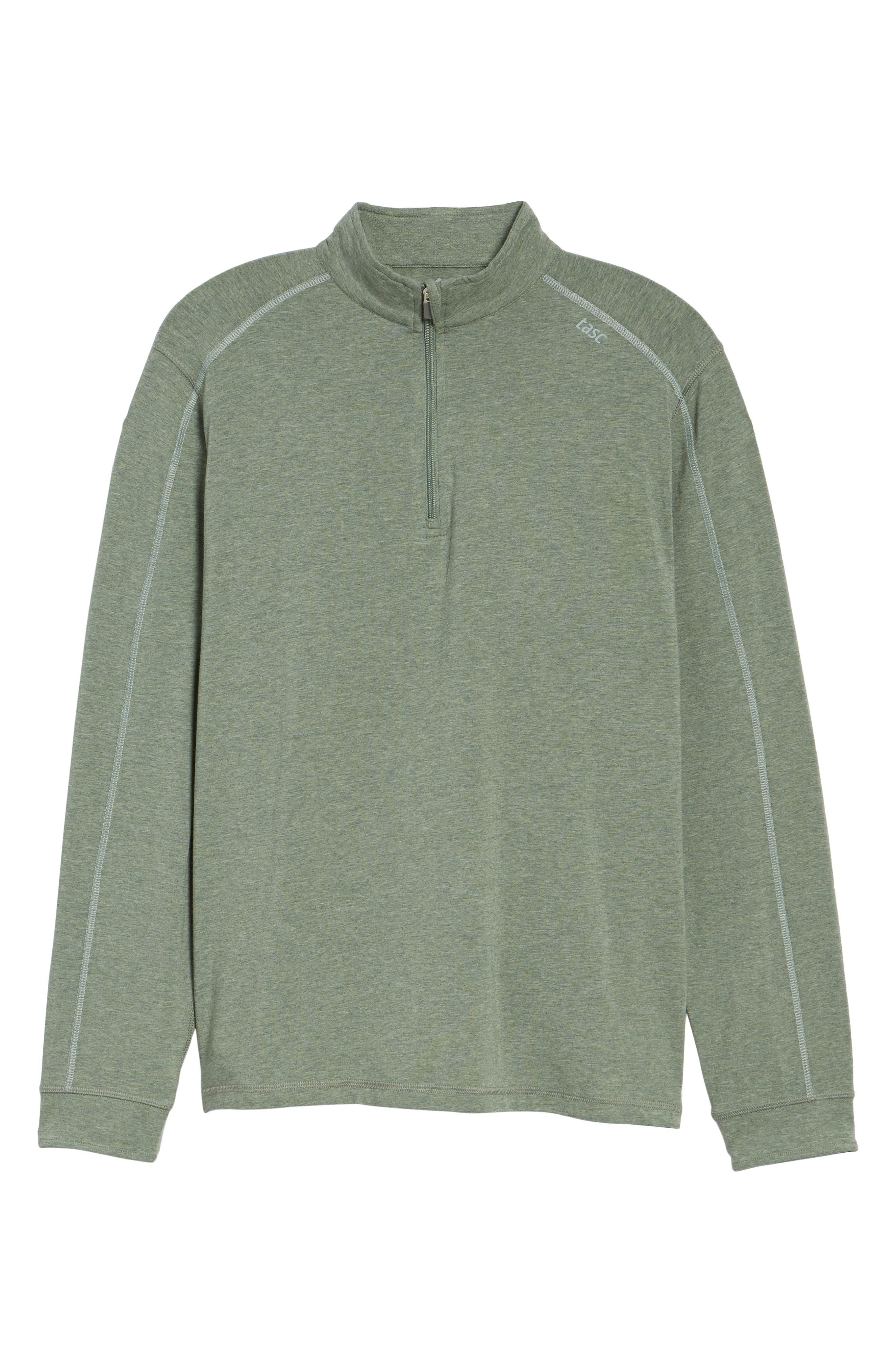 Carrollton Quarter Zip Sweatshirt,                             Alternate thumbnail 6, color,