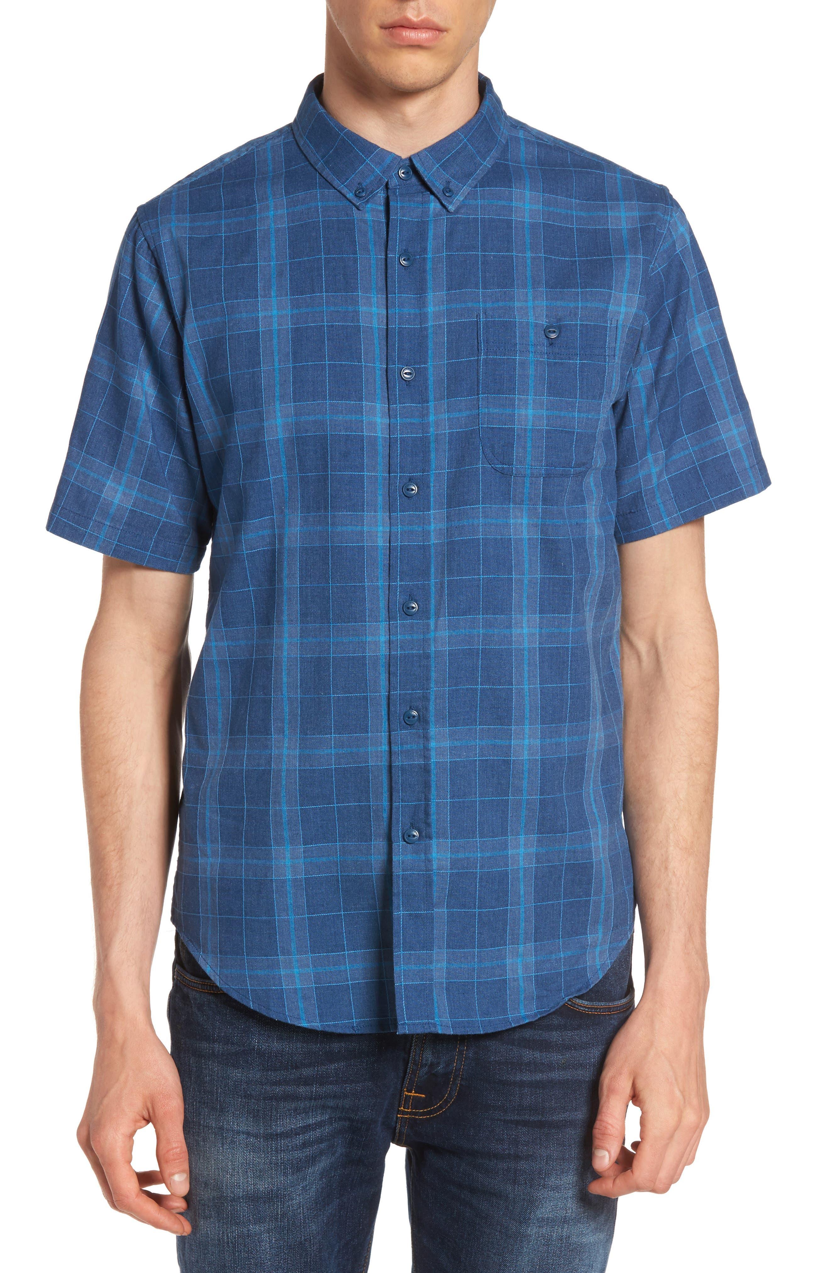 Plaid Woven Shirt,                             Main thumbnail 2, color,