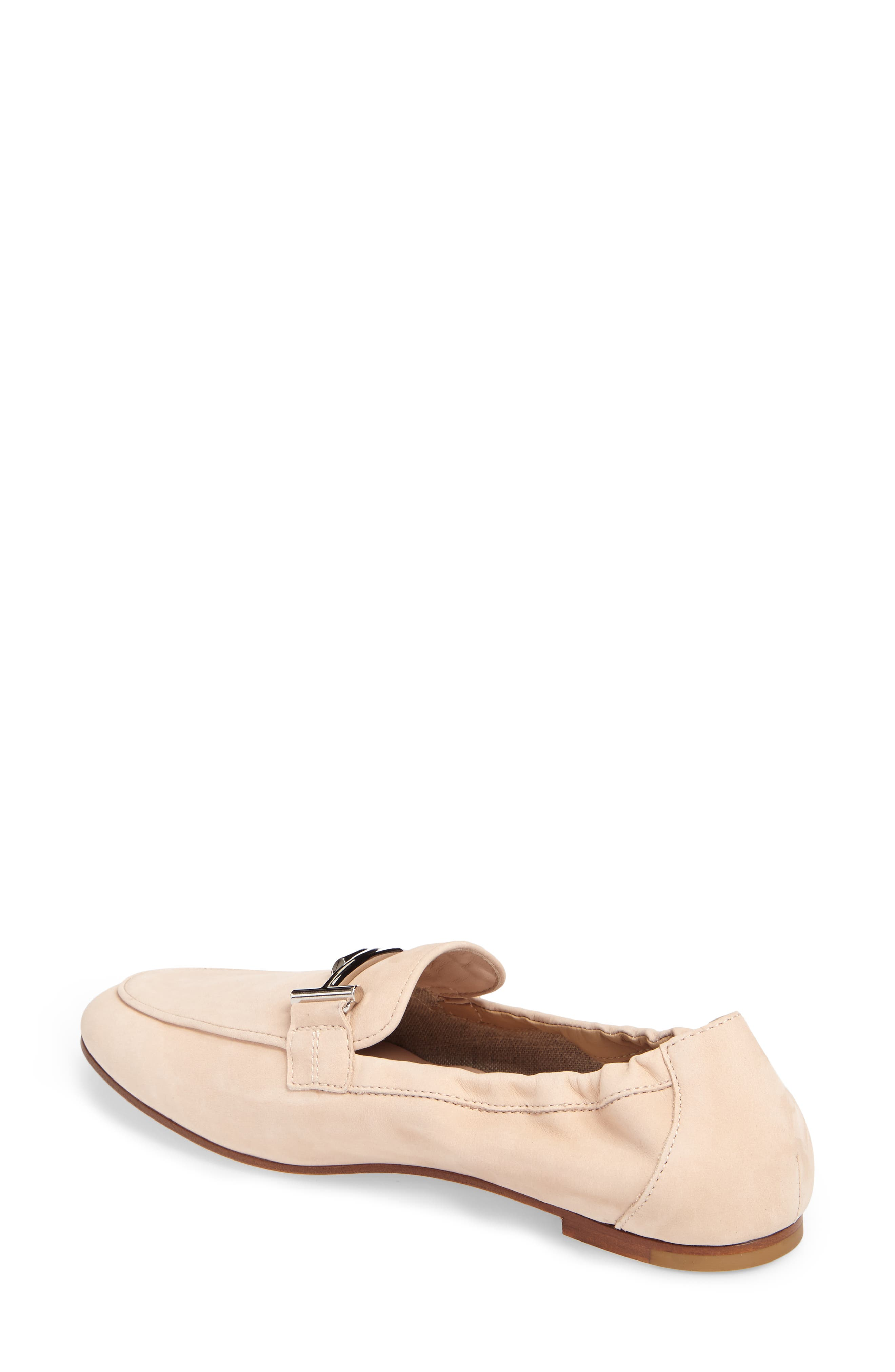 Double T Scrunch Loafer,                             Alternate thumbnail 7, color,
