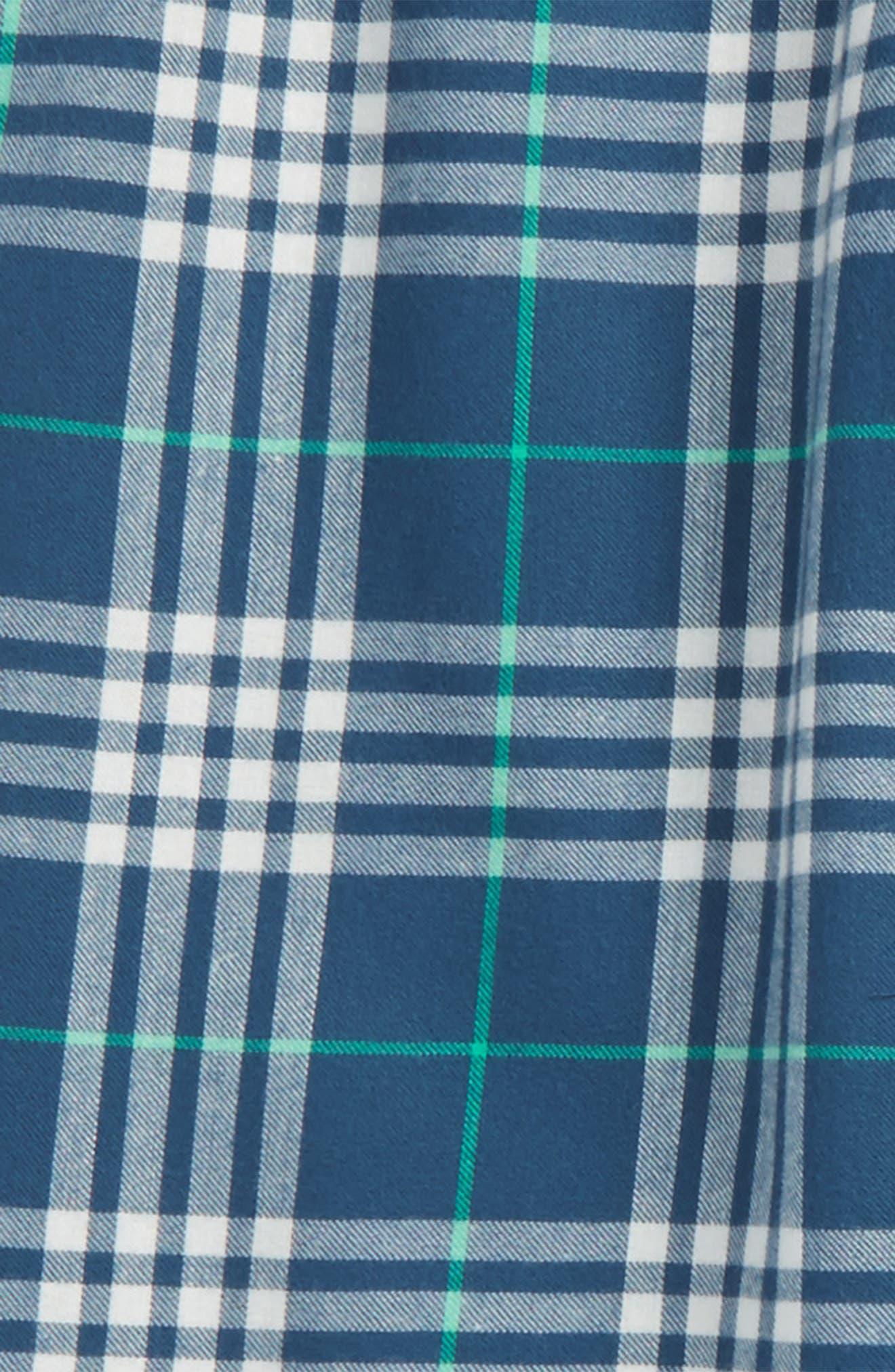 Plaid Flannel Pants,                             Main thumbnail 5, color,