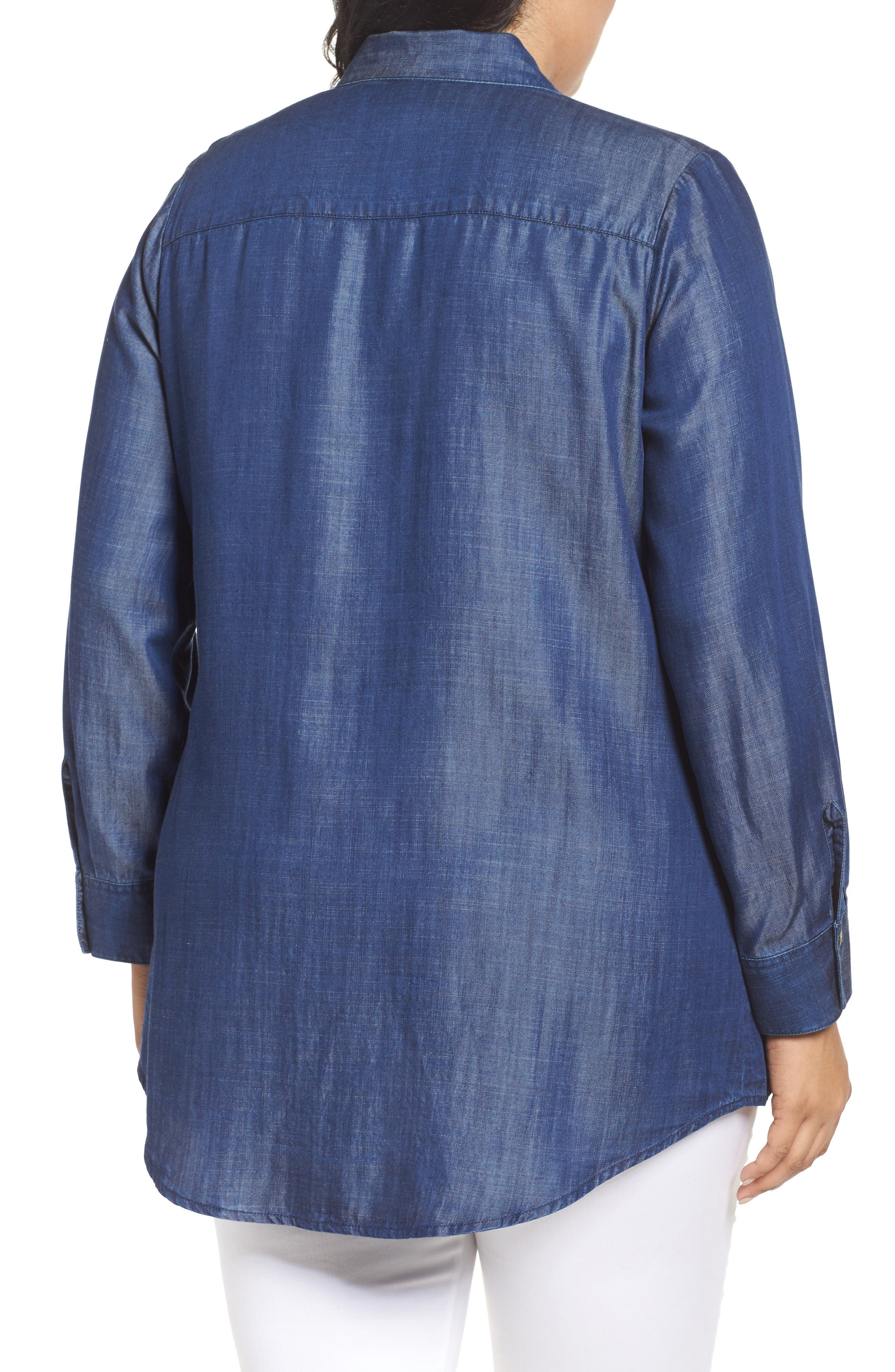 Chambray Tunic,                             Alternate thumbnail 5, color,