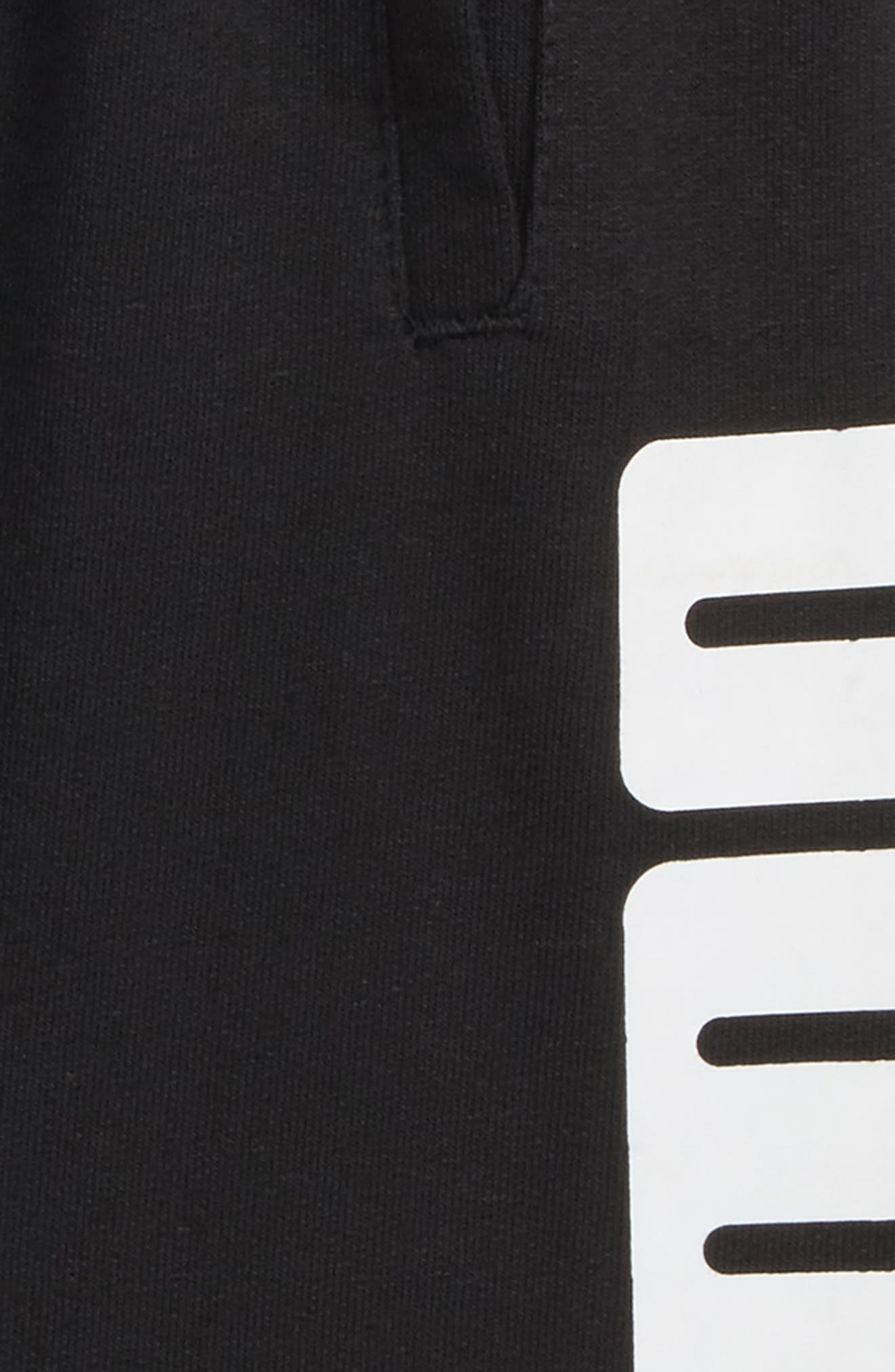 Rebel Knit Shorts,                             Alternate thumbnail 2, color,                             001