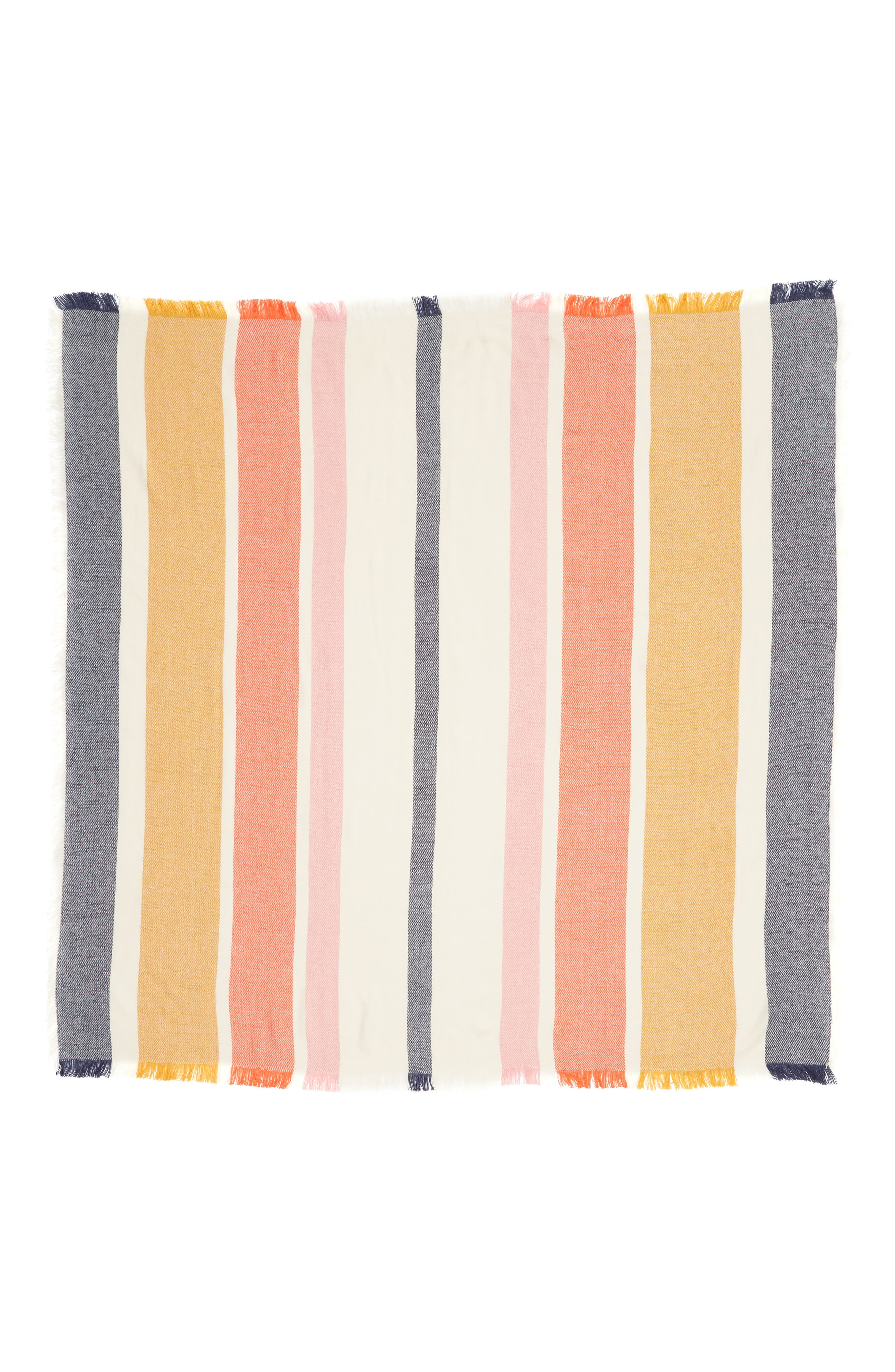 MADEWELL,                             Stripe Blanket Scarf,                             Alternate thumbnail 3, color,                             400