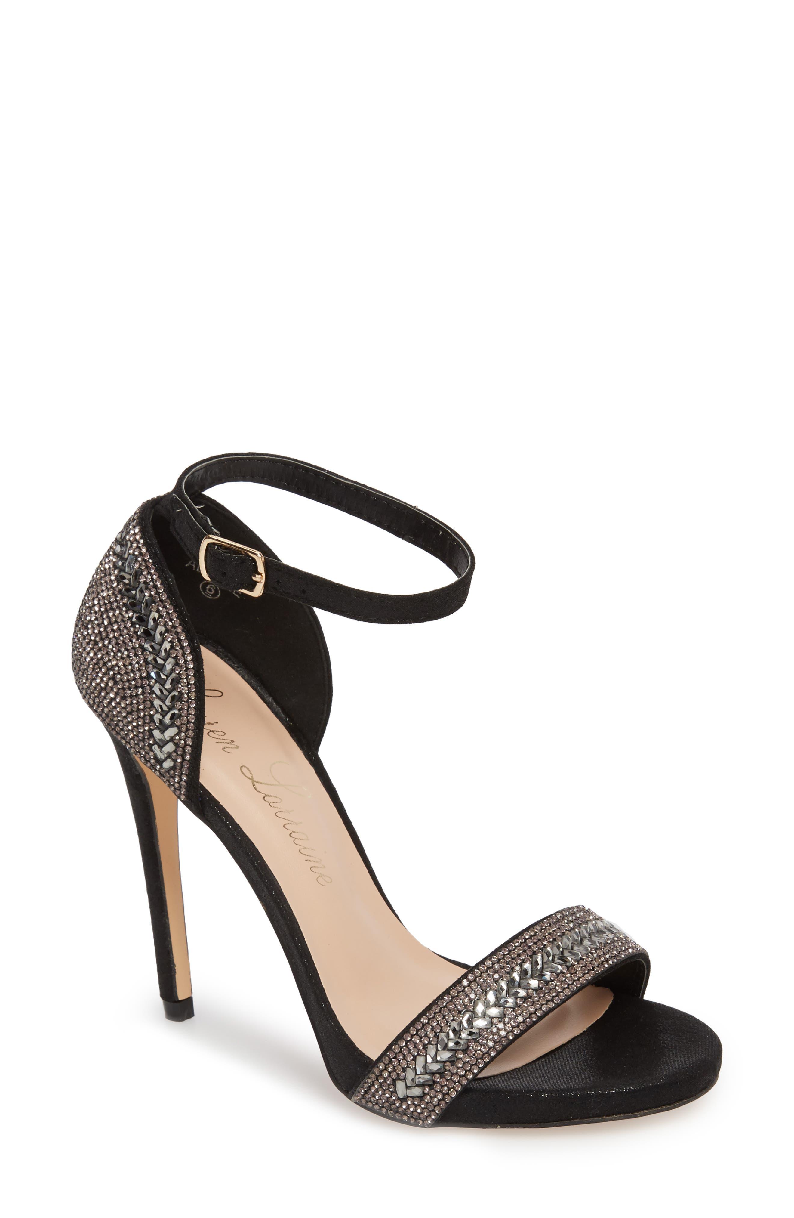 Adelle Embellished Sandal,                         Main,                         color, 001