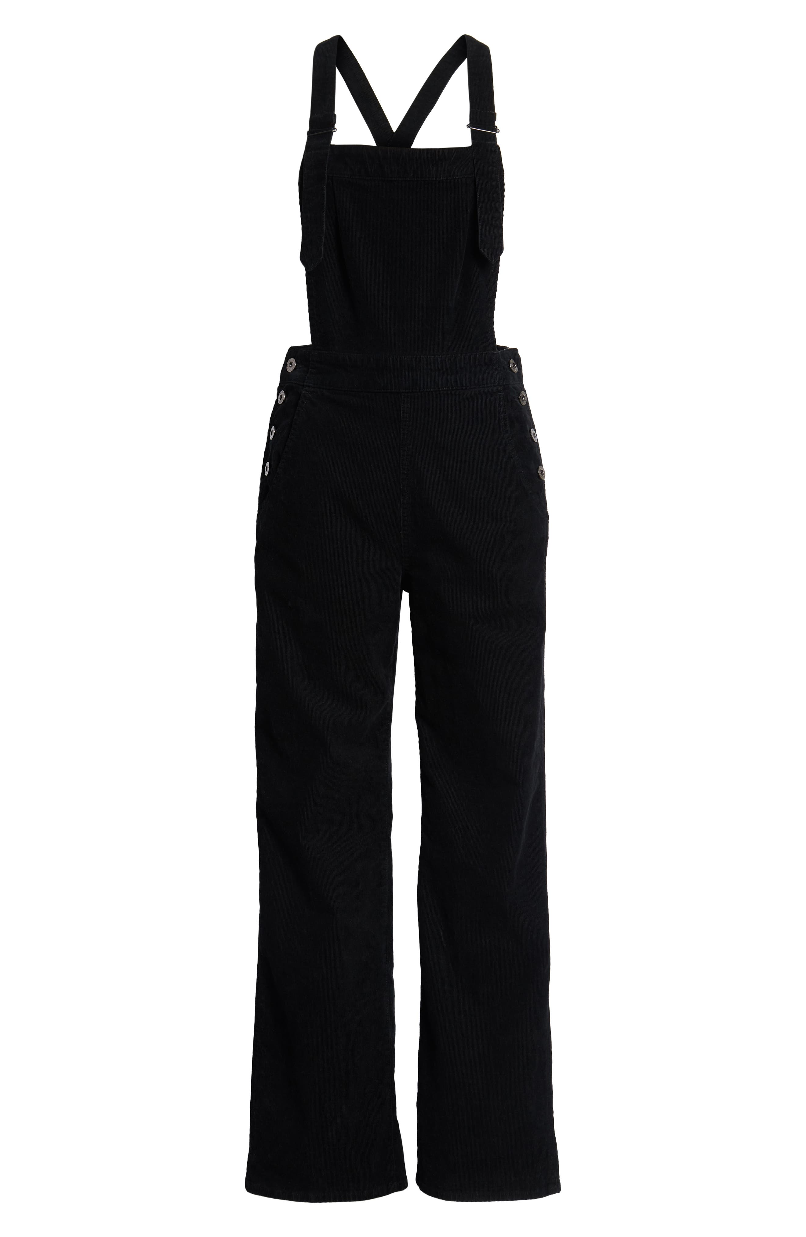 Gwendolyn Corduroy Overalls,                             Alternate thumbnail 7, color,                             018