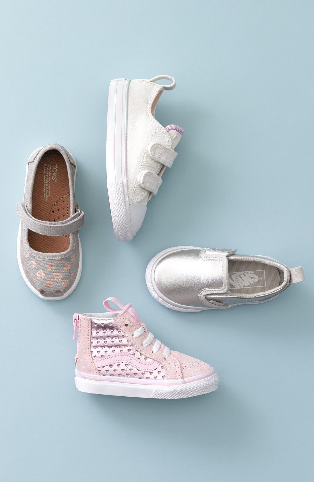 Sk8-Hi Zip Sneaker,                             Alternate thumbnail 5, color,                             040