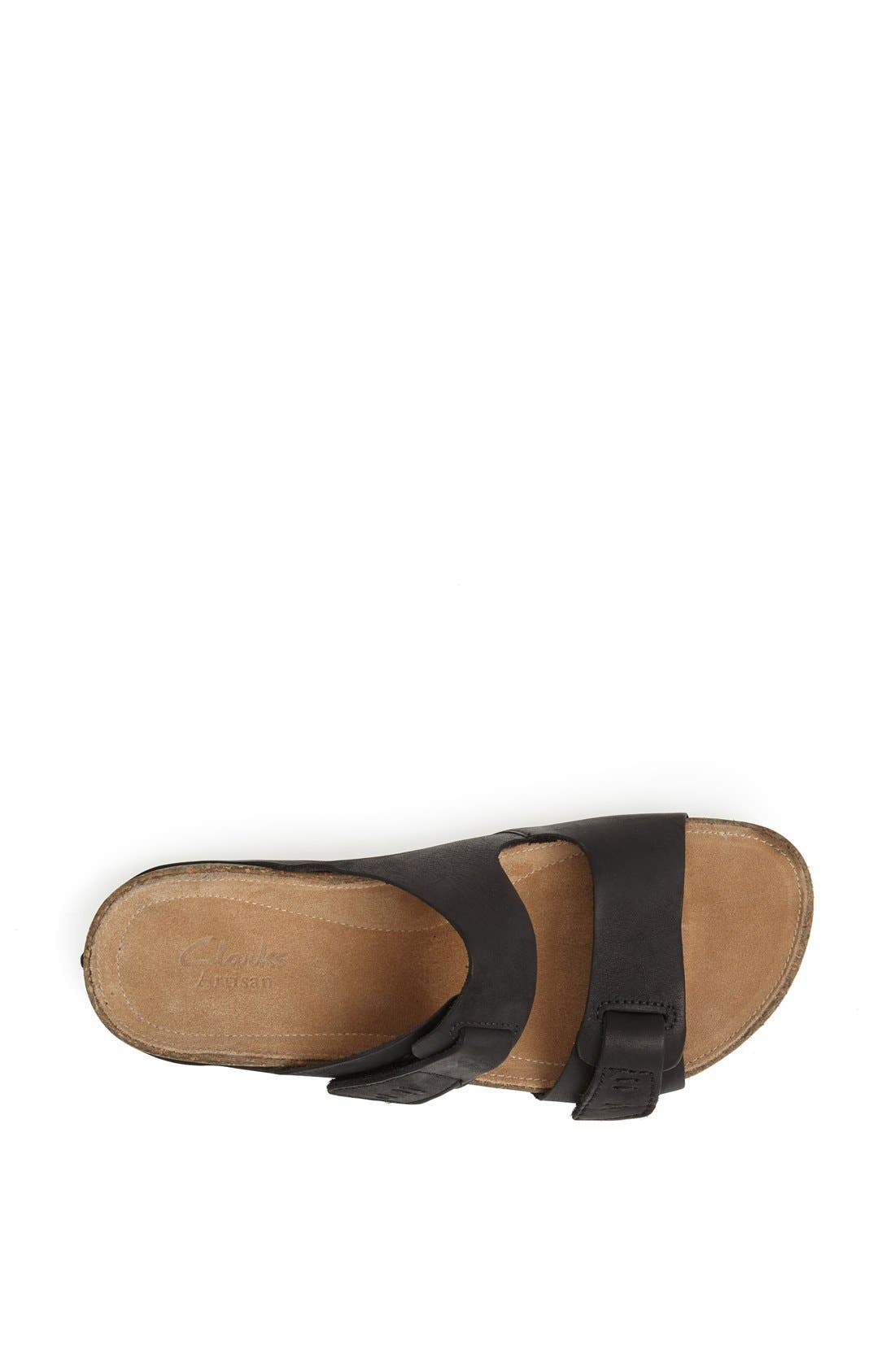 'Perri Coast' Leather Thong Sandal,                             Alternate thumbnail 4, color,                             005