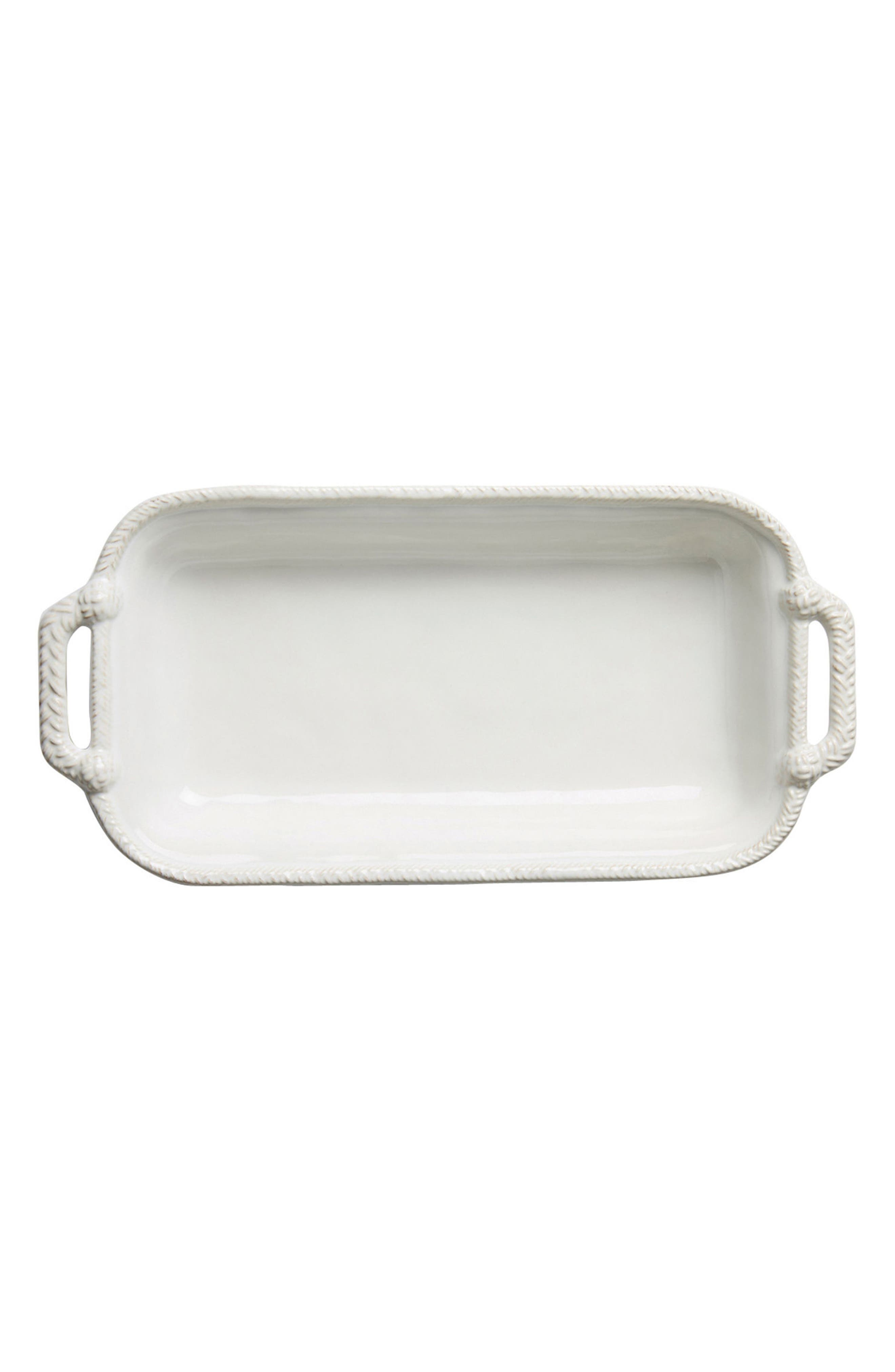 Le Panier 2-Quart Rectangular Baking Dish,                         Main,                         color, WHITEWASH