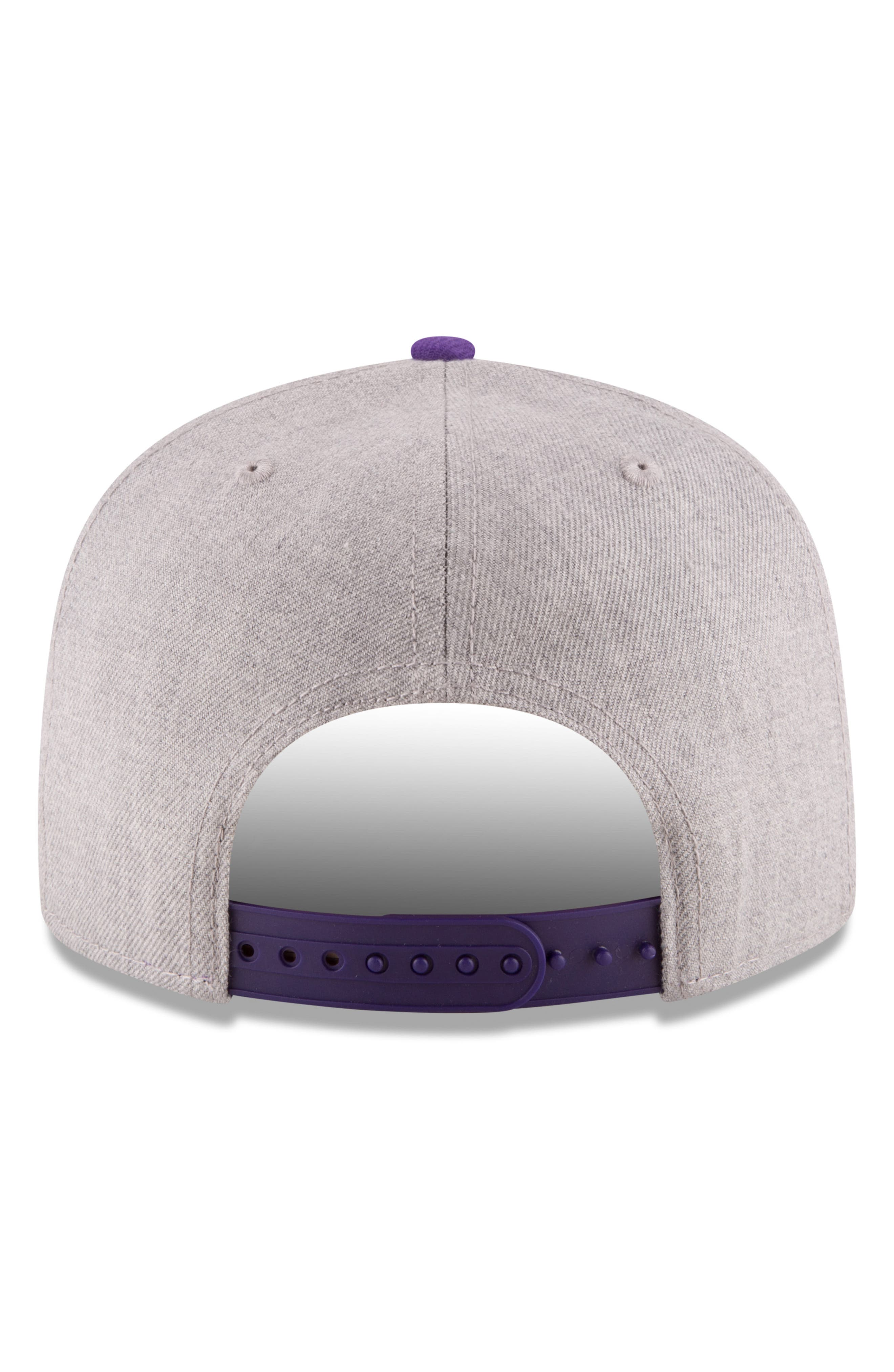 9FIFTY LA Lakers Two-Tone Cap,                             Alternate thumbnail 4, color,                             020