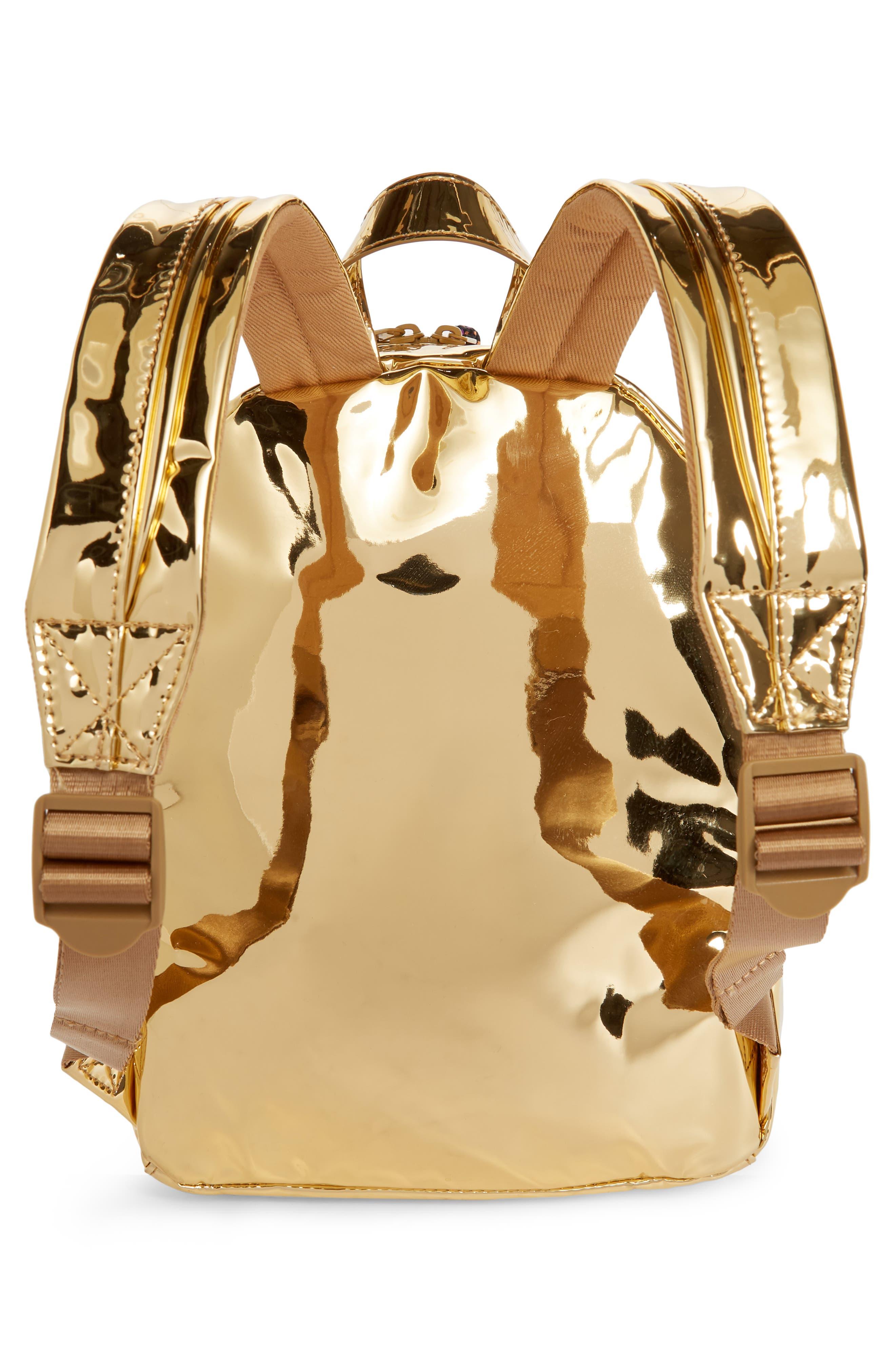 Metallic Mini Backpack,                             Alternate thumbnail 2, color,                             710