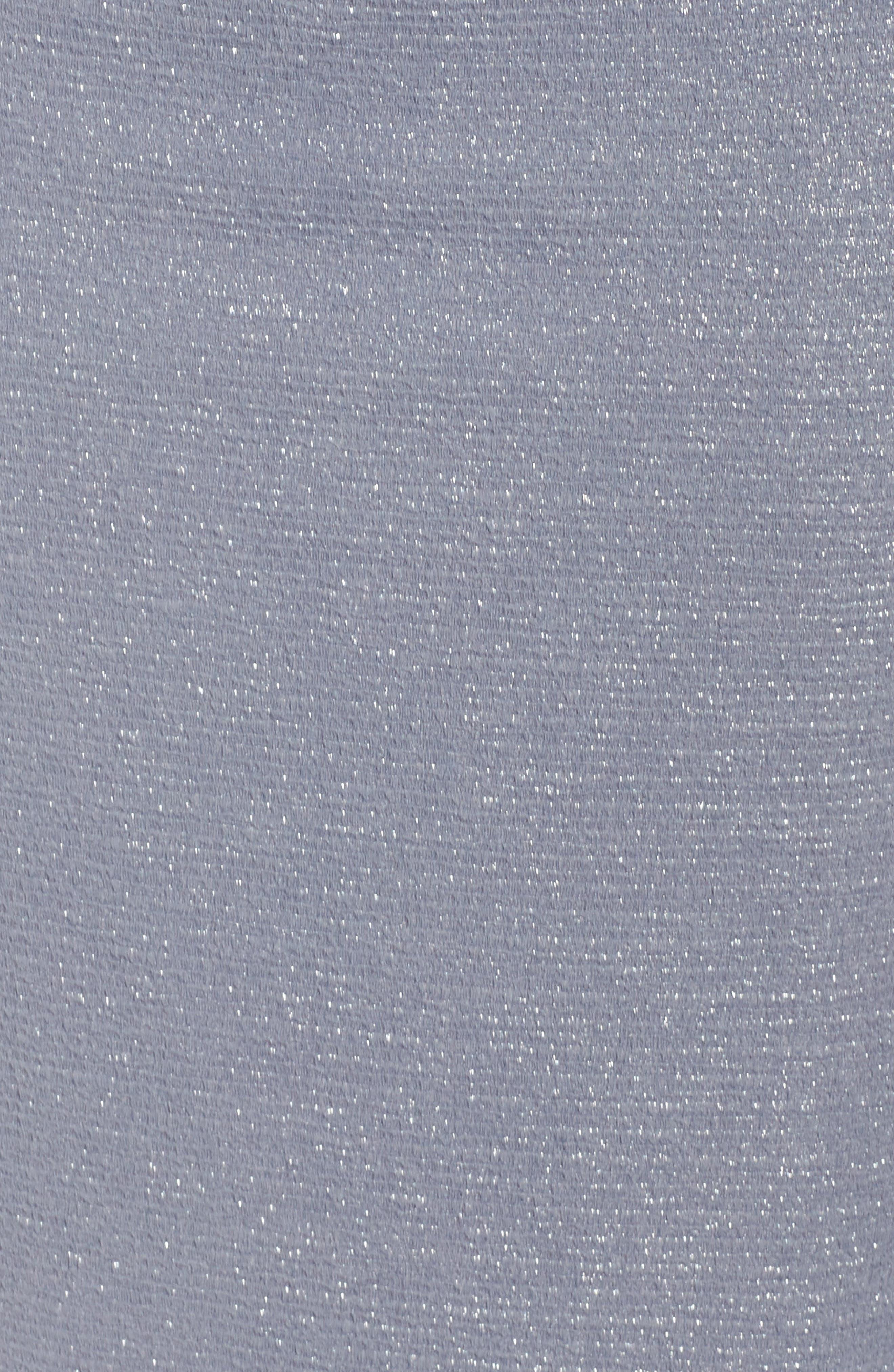 Metallic Gown,                             Alternate thumbnail 5, color,                             028