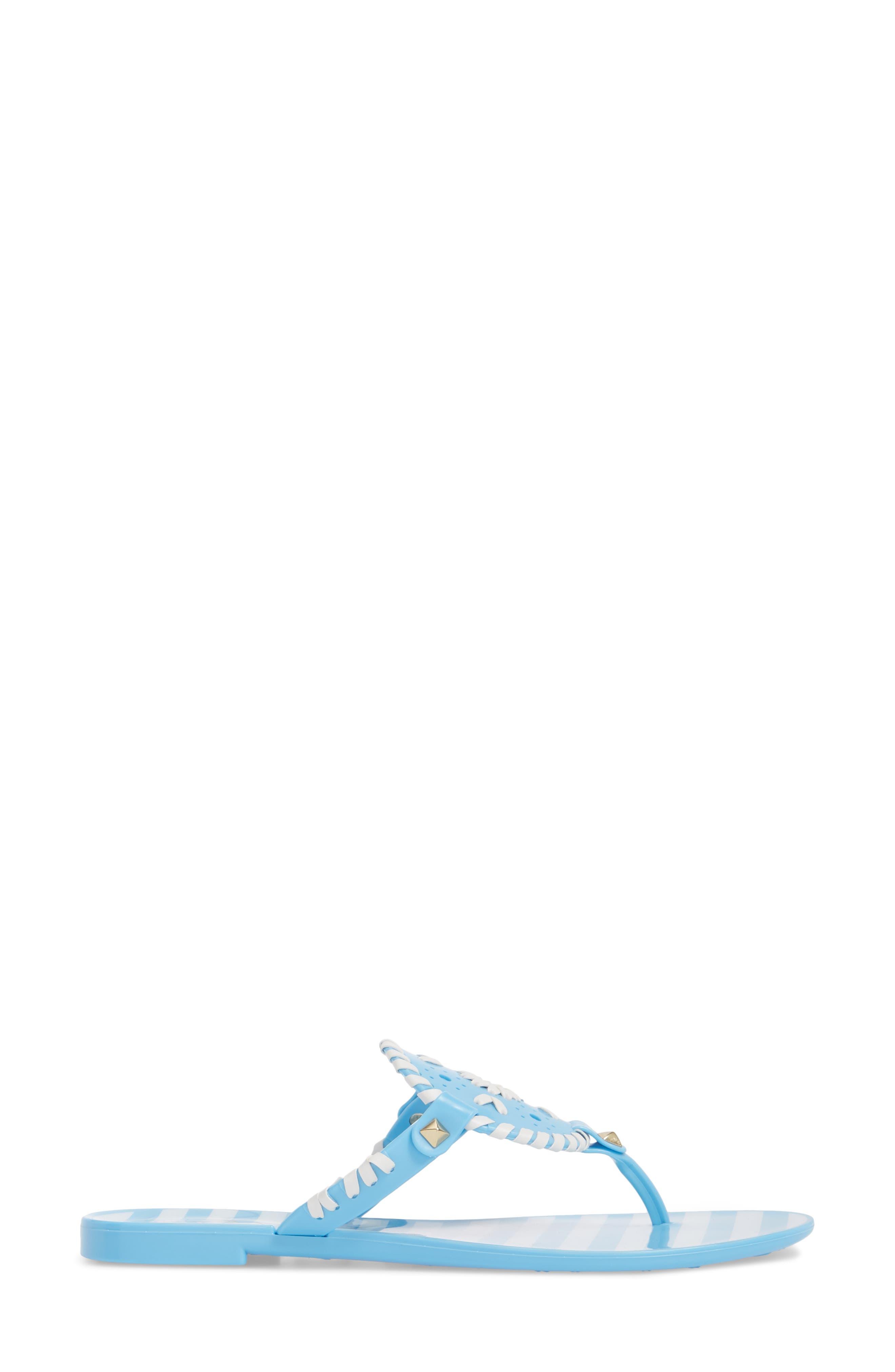 'Georgica' Jelly Flip Flop,                             Alternate thumbnail 88, color,