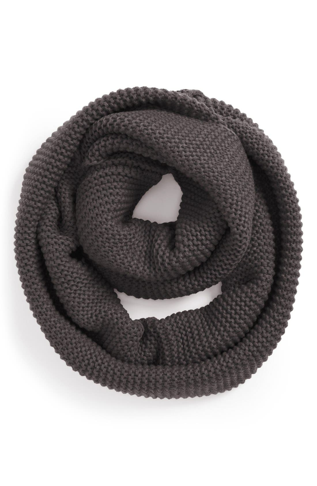 Ribbed Infinity Scarf,                         Main,                         color, 020