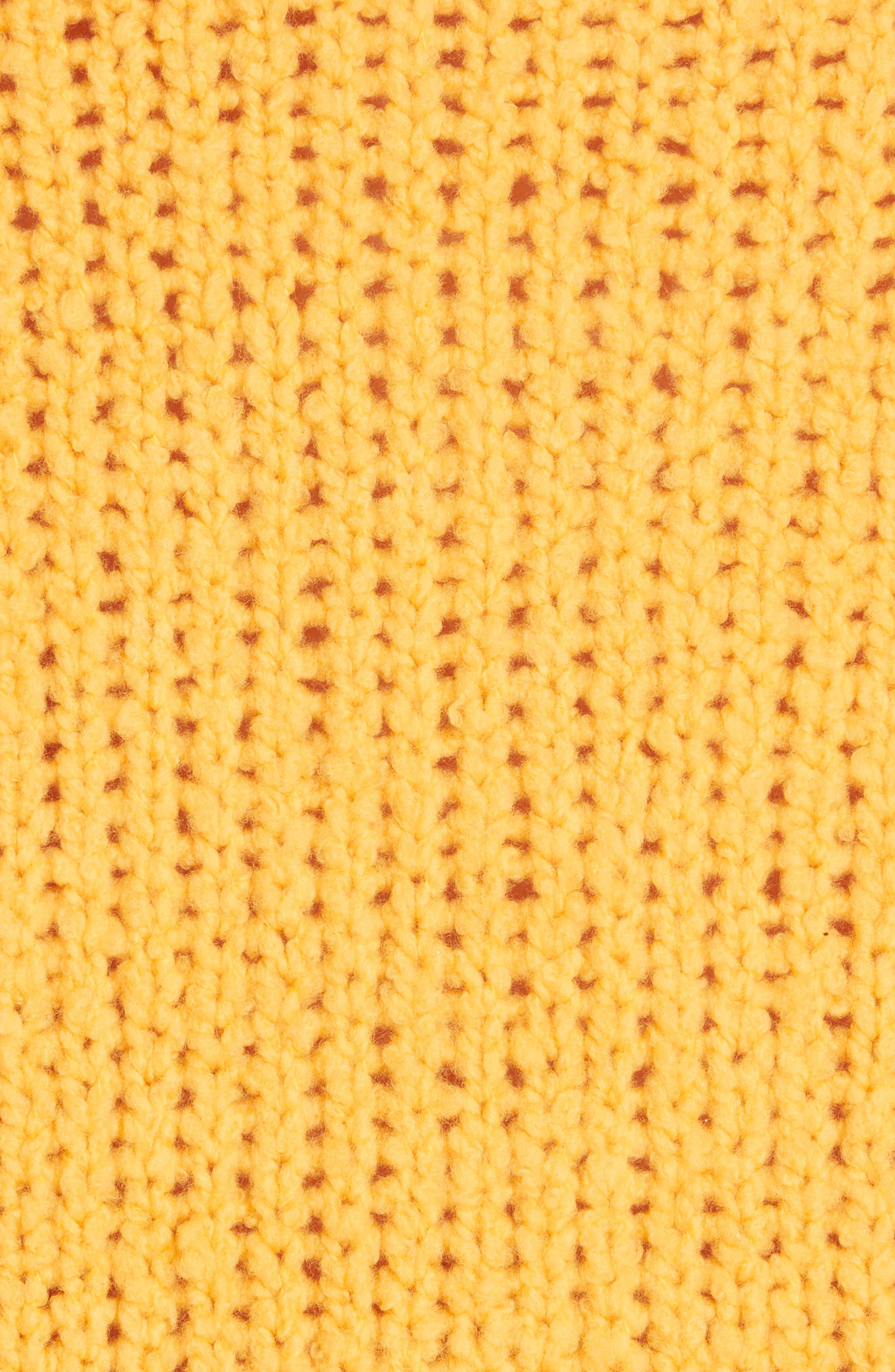 Arizona Merino Wool Sweater,                             Alternate thumbnail 5, color,                             GOLD