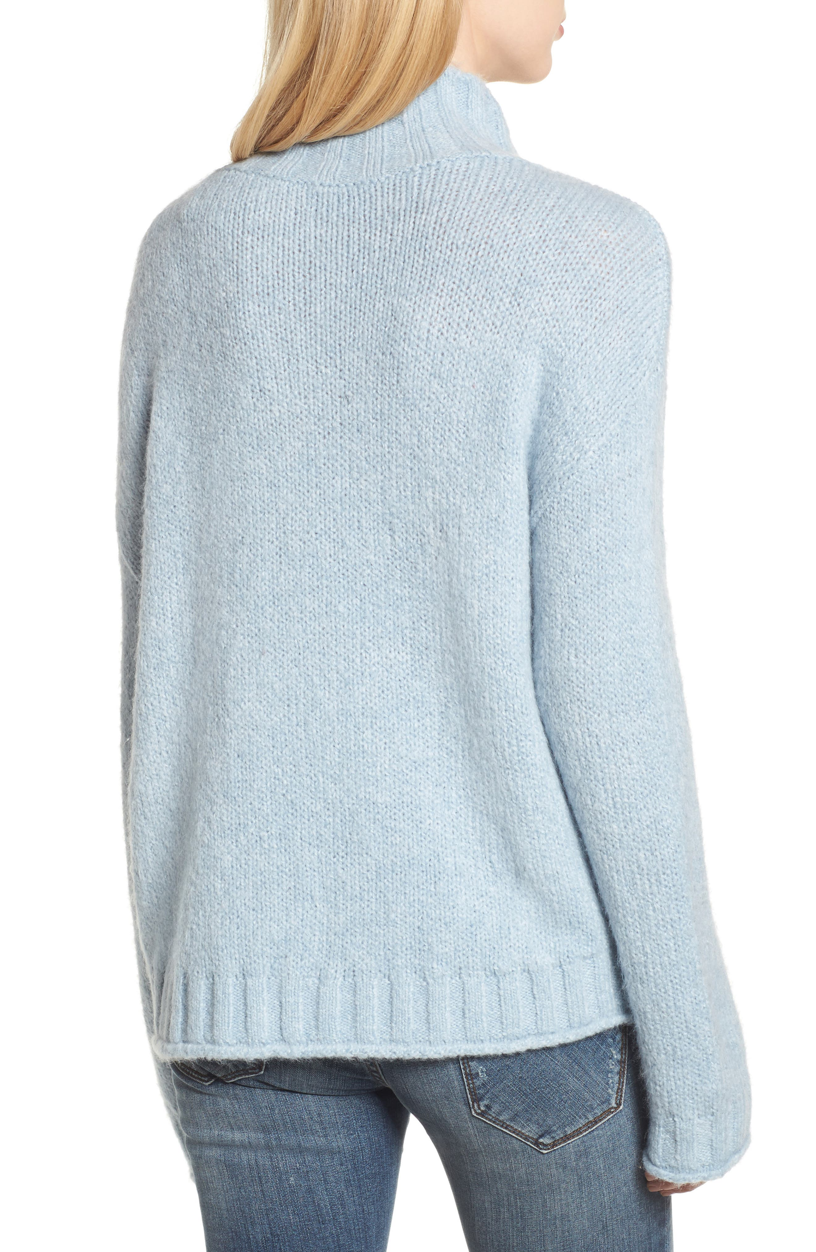 Cozy Mock Neck Sweater,                             Alternate thumbnail 13, color,
