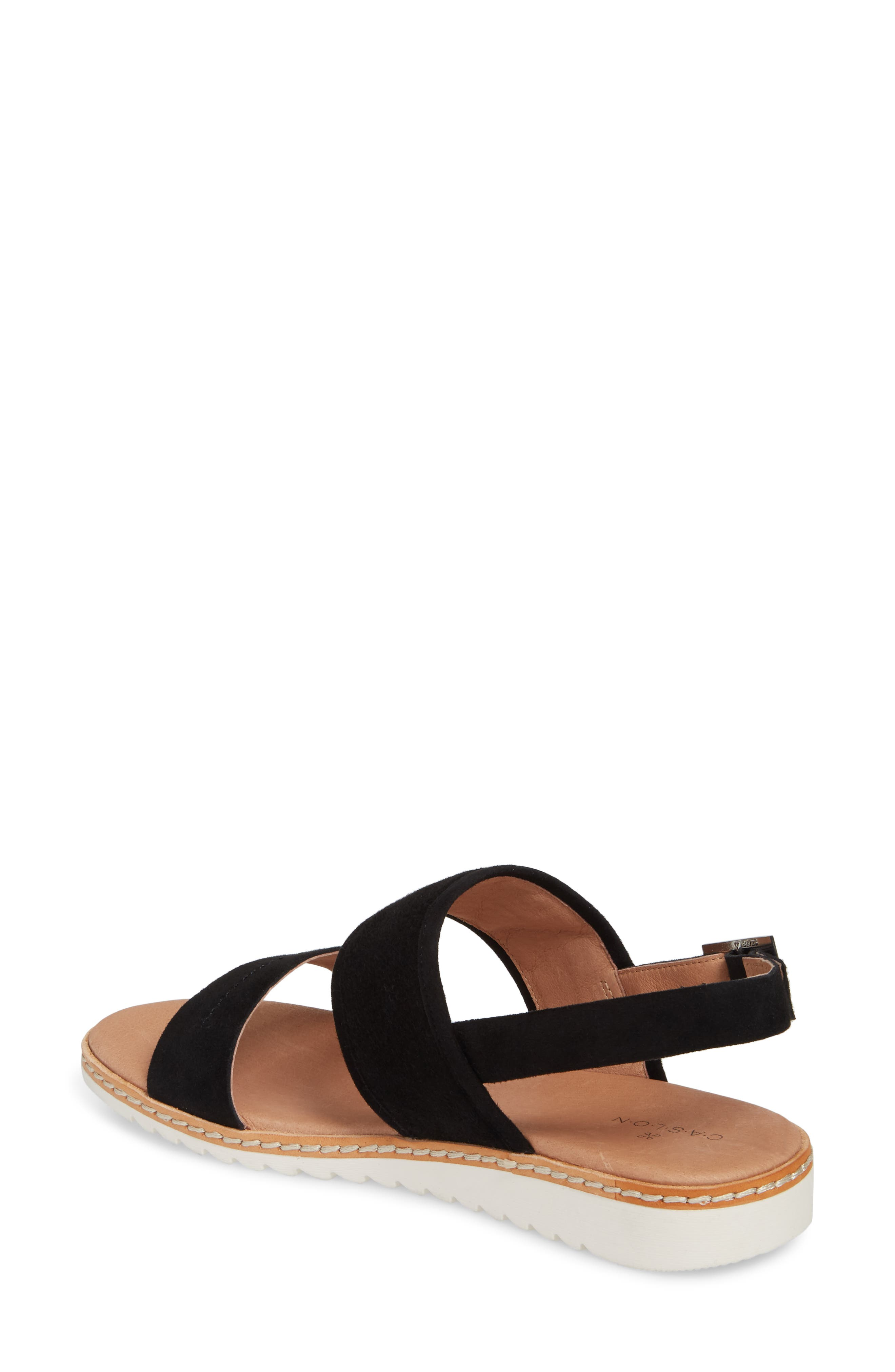 Claire Slingback Sandal,                             Alternate thumbnail 2, color,                             001