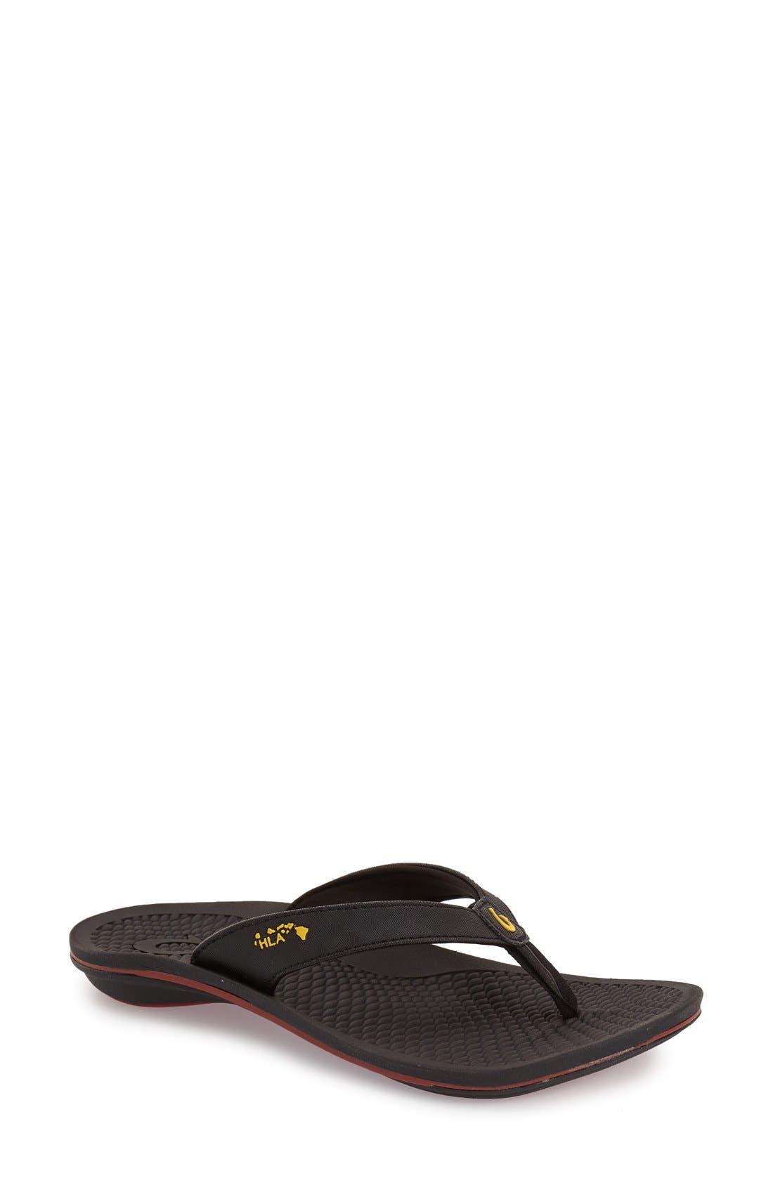 'Kia I Wahine' Flip Flop,                         Main,                         color, 001