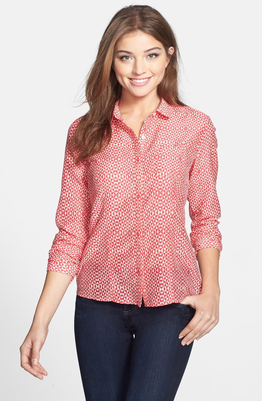 Cotton & Silk Shirt,                             Main thumbnail 36, color,