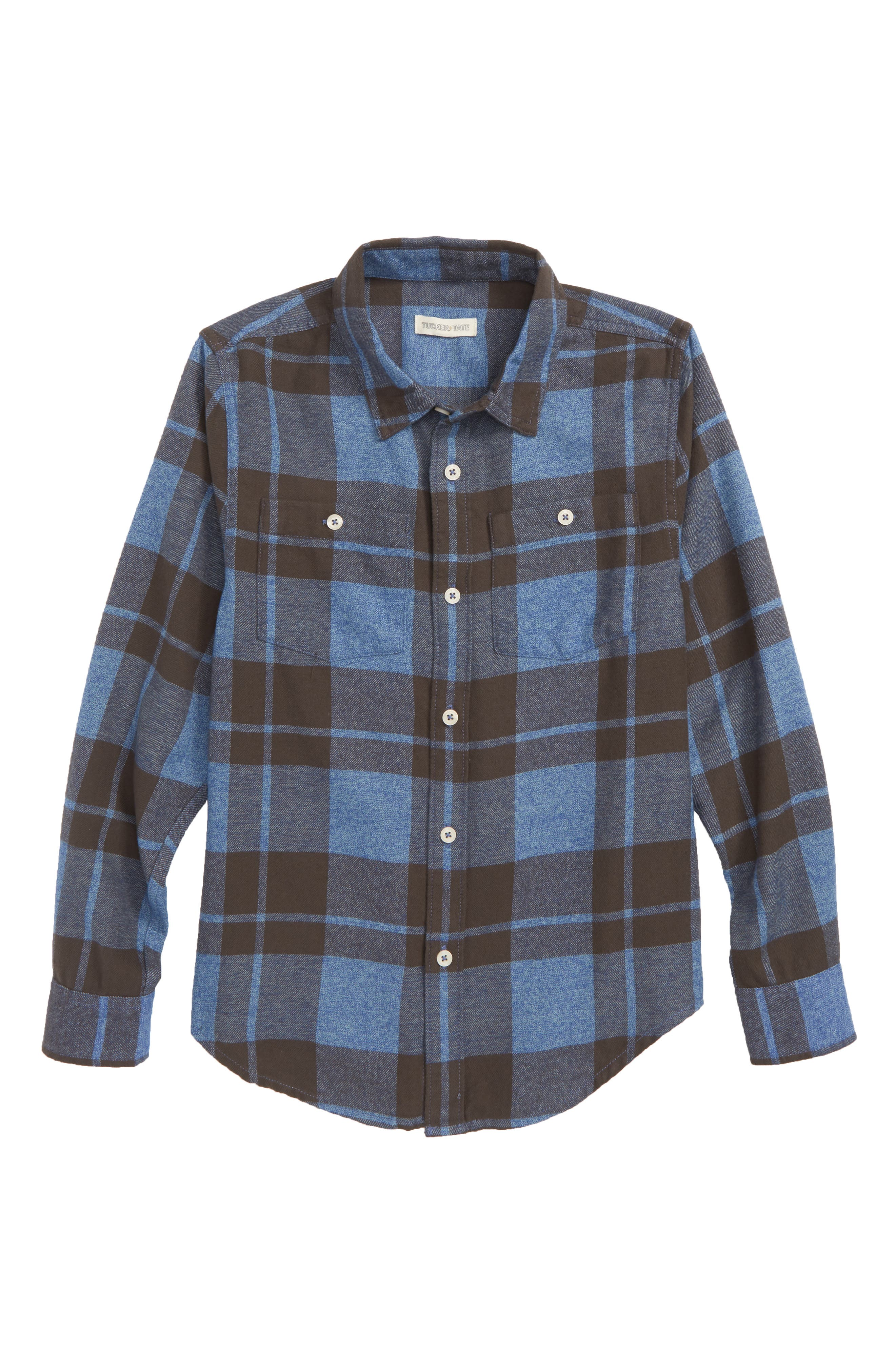Jaspé Plaid Shirt,                             Main thumbnail 1, color,                             401