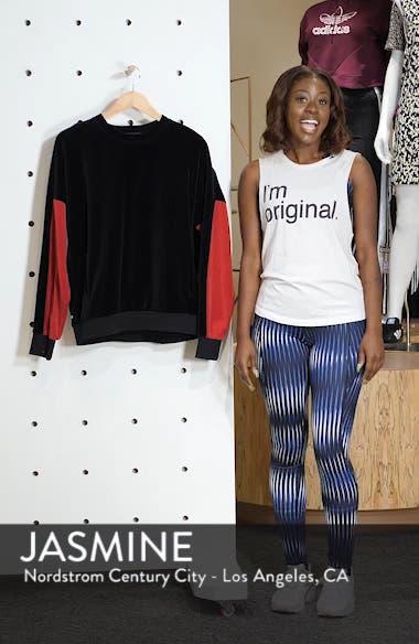 Velour Crewneck Sweater, sales video thumbnail