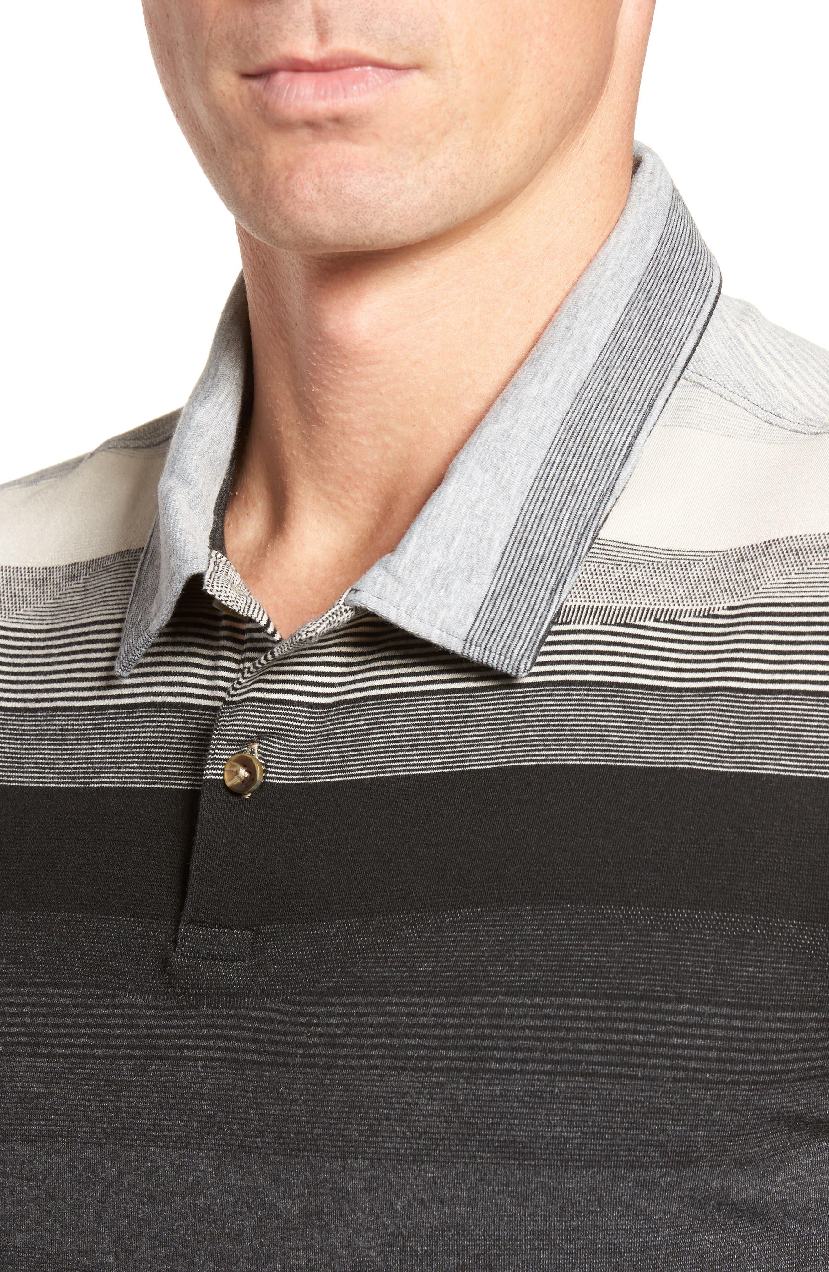 Lateral Polo Shirt,                             Alternate thumbnail 4, color,                             031