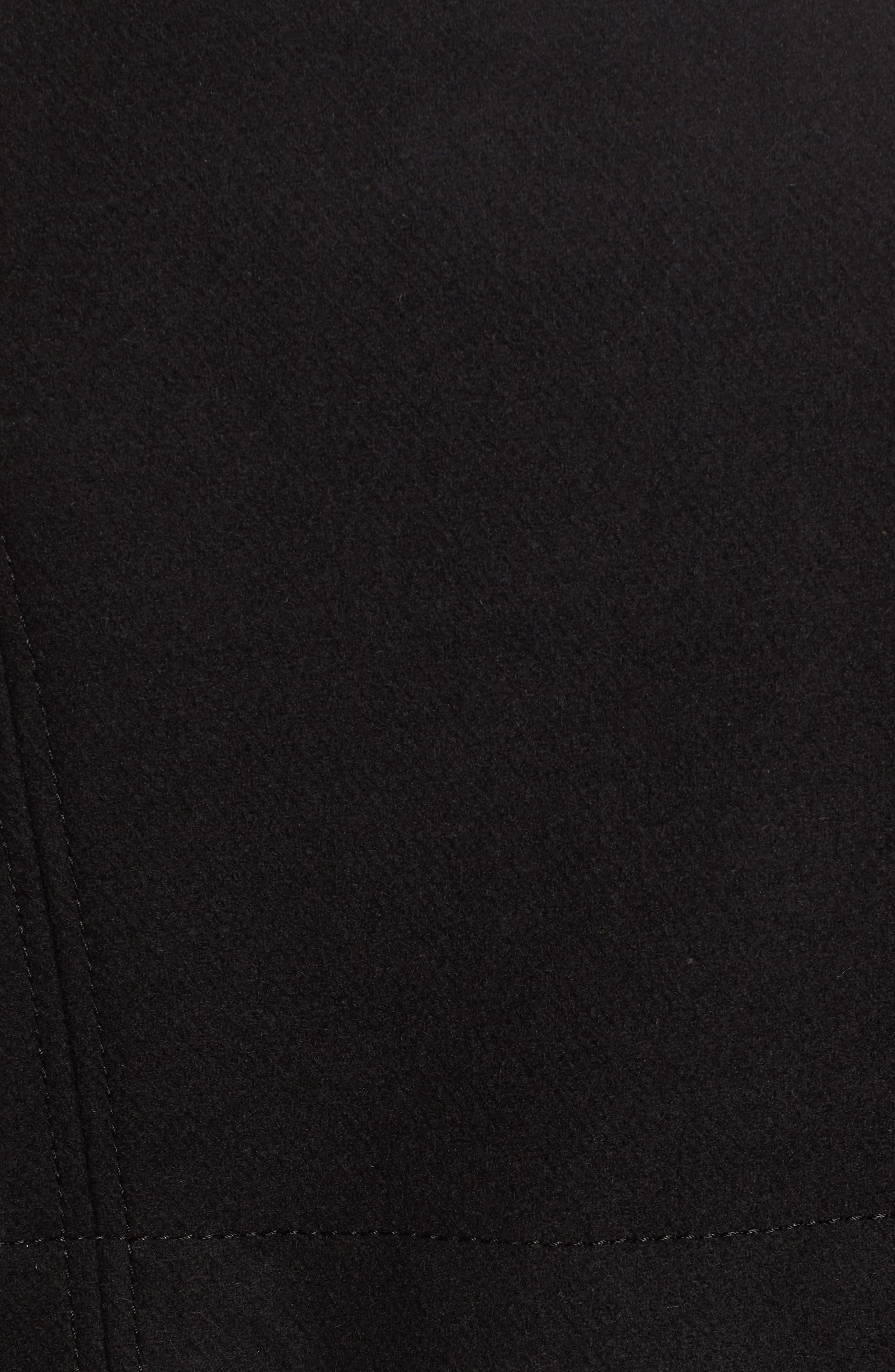 Flange Belted Coat,                             Alternate thumbnail 6, color,                             001